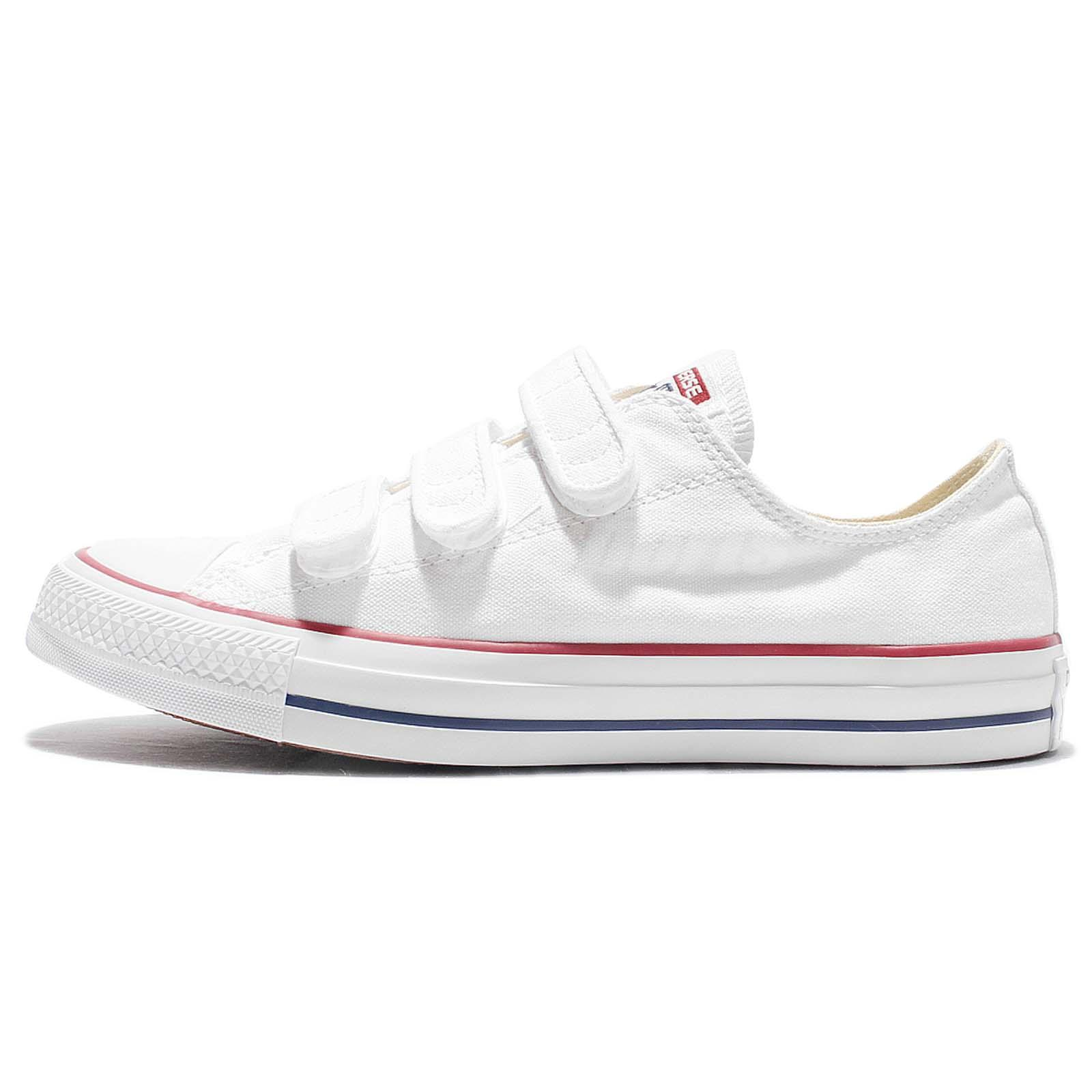 Converse Chuck Taylor All Star V3 White Canvas Strap Men Casual Shoes 105042