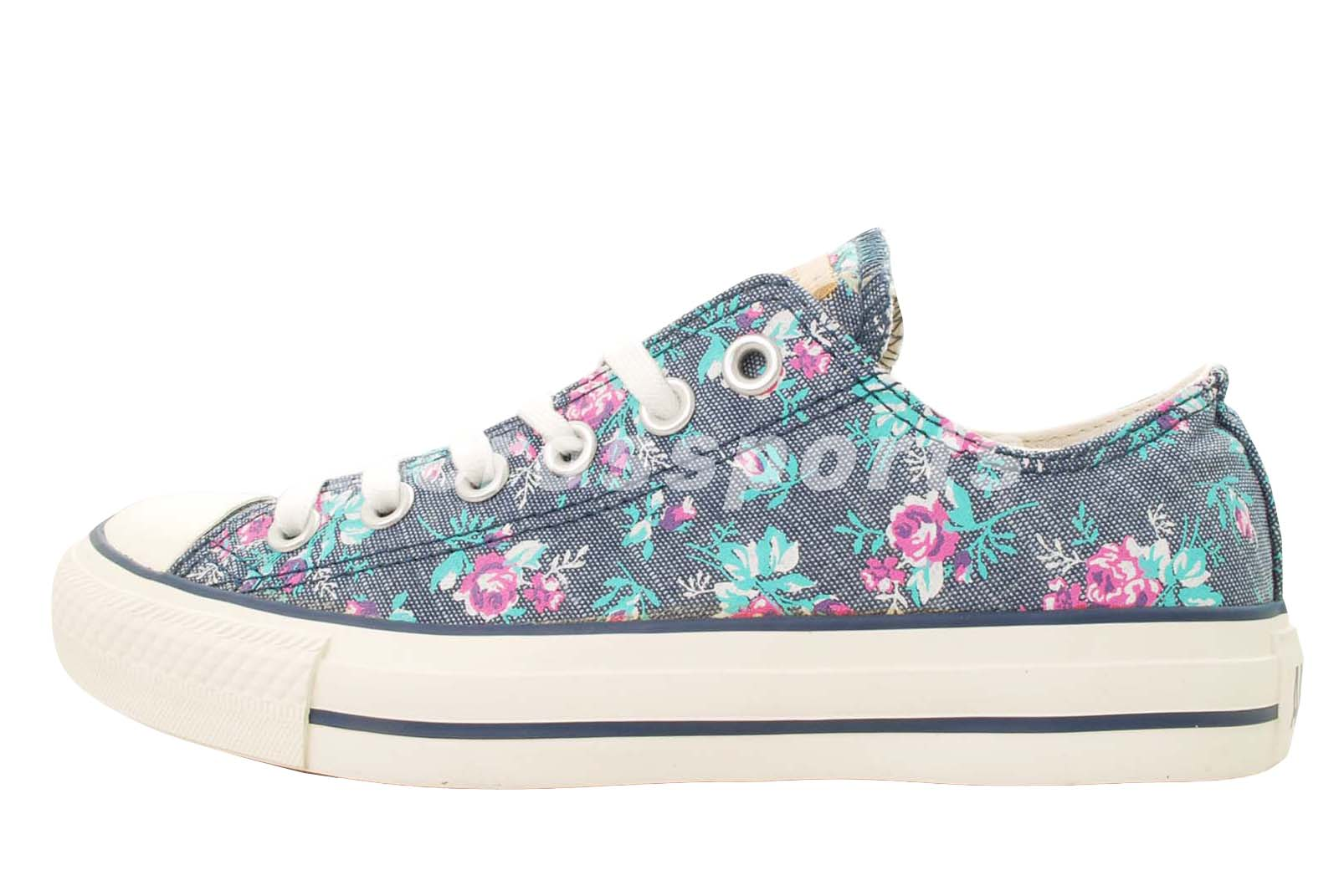 434ed63a5e3d Converse Chuck Taylor All Star OX Low Floral Womens Casual Shoes 1131W170104
