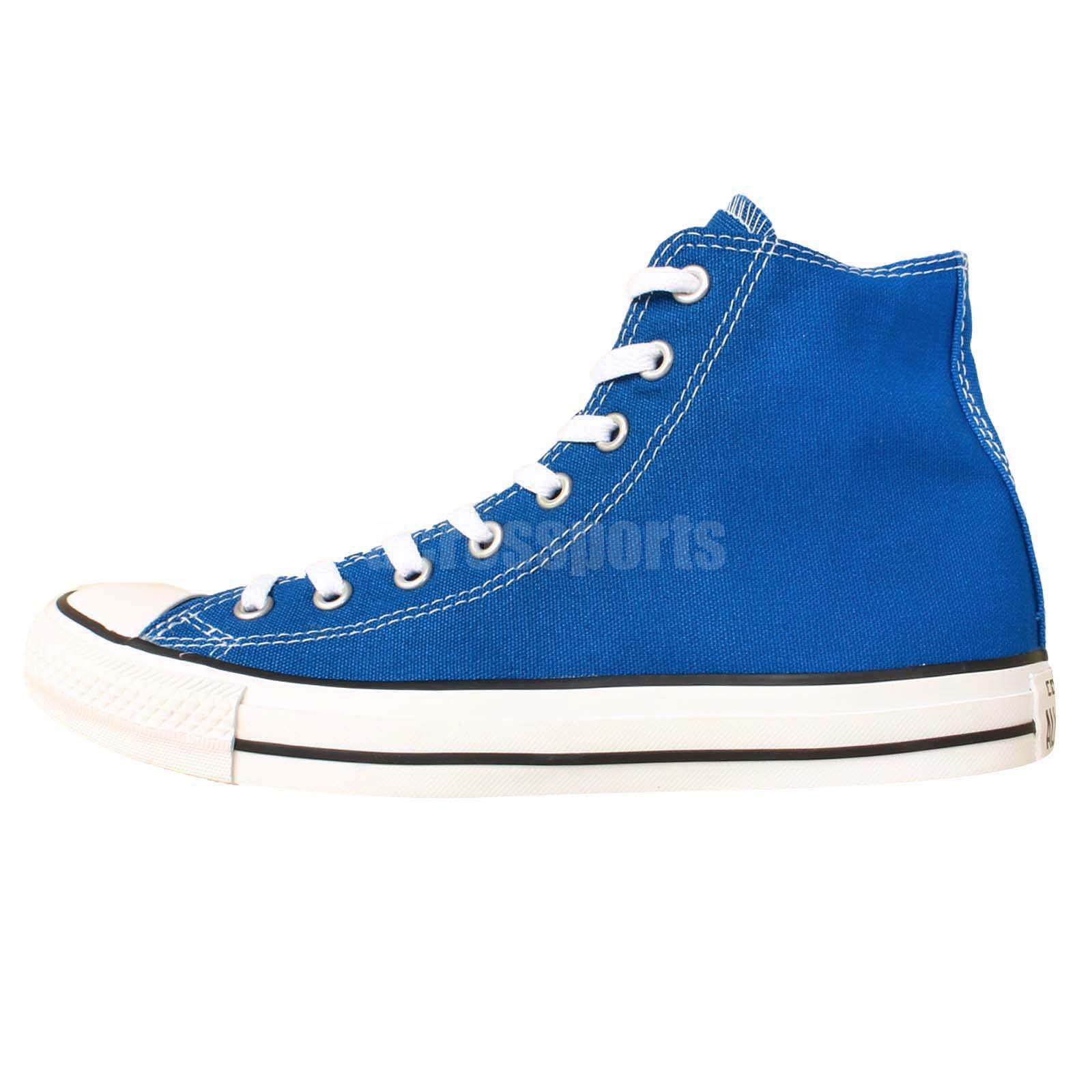 Converse Chuck Taylor All Star Blue White Classic Men Women Casual Shoes 144800C