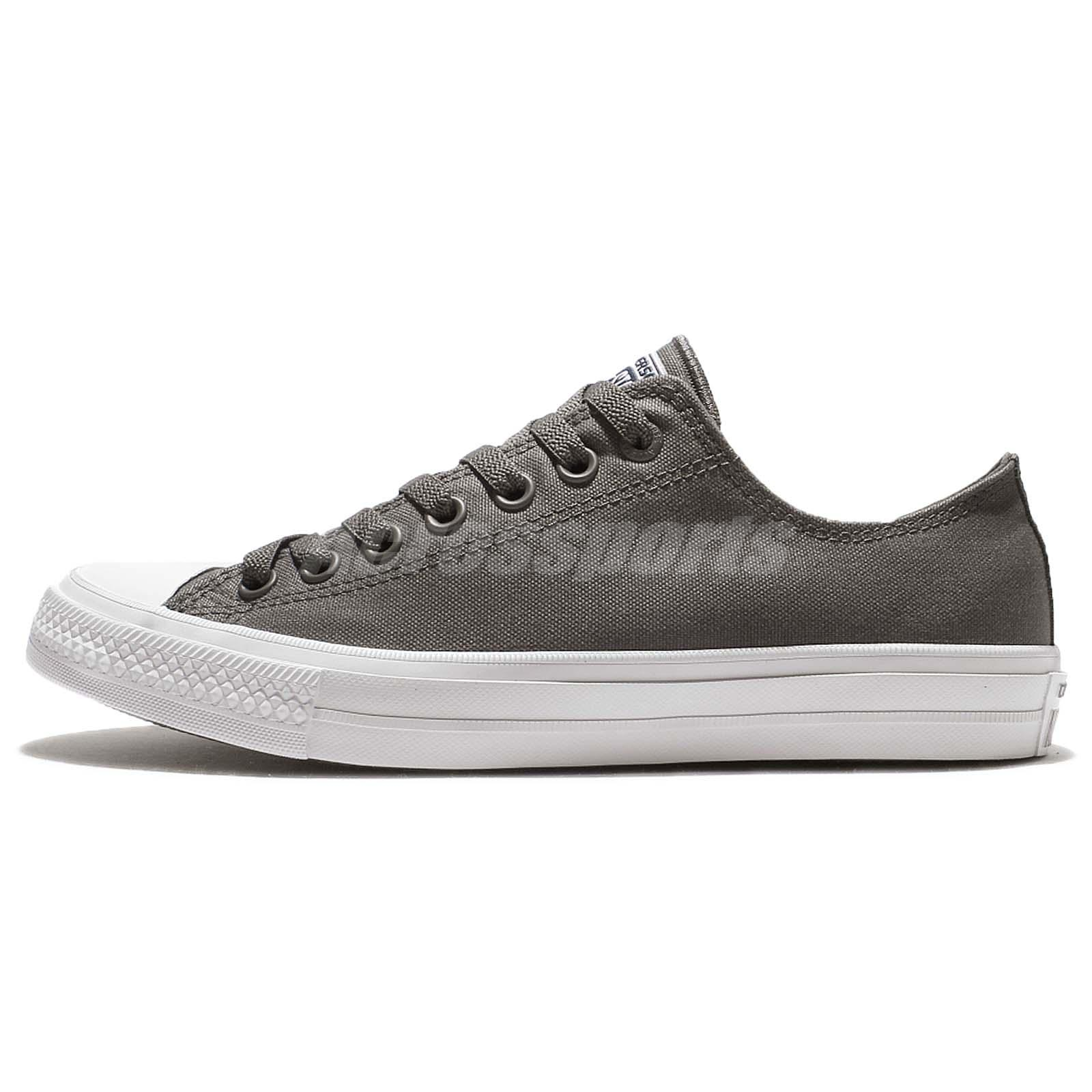 Converse Chuck Taylor All Star II 2 Thunder Grey White Men Casual Shoes  150153C