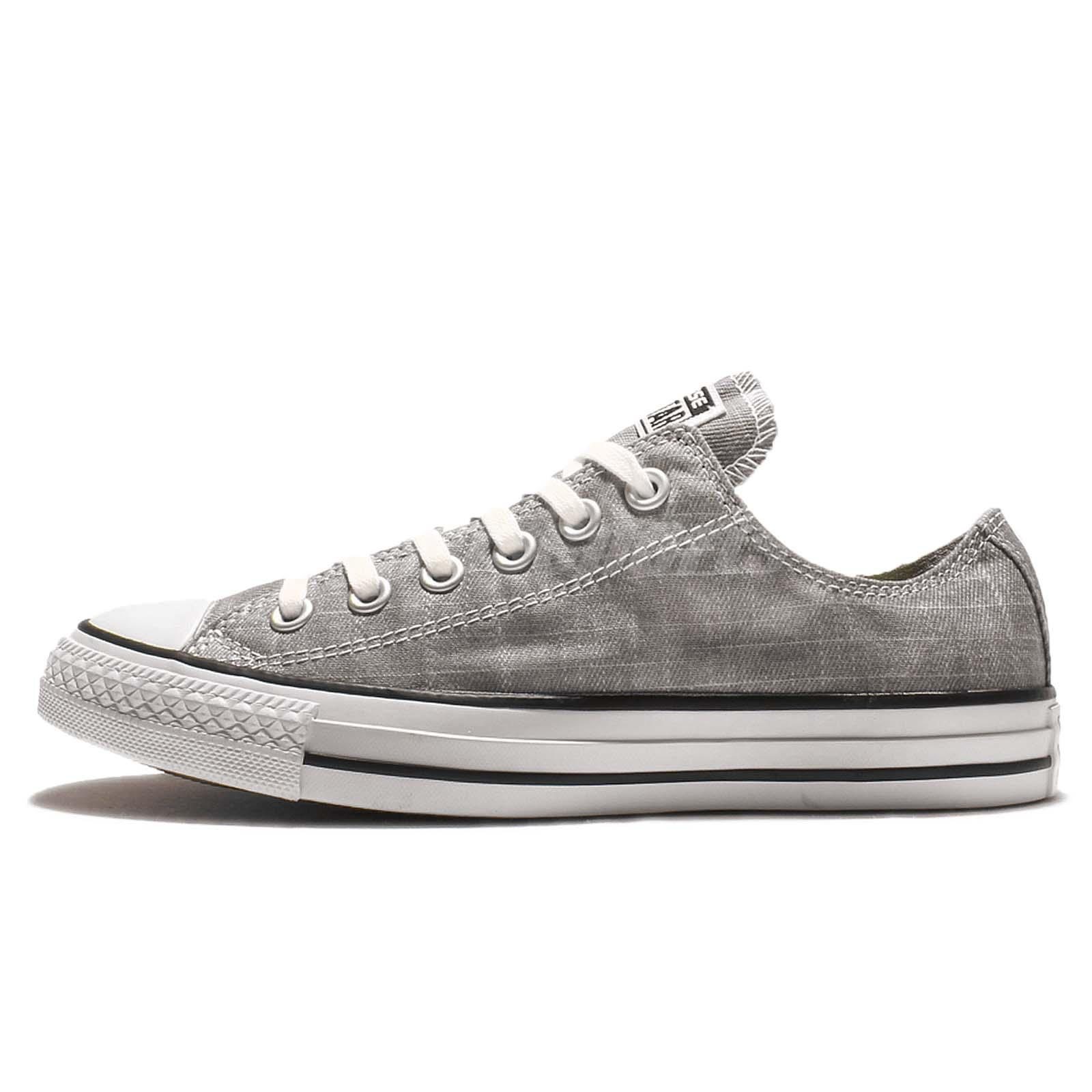 converse chuck taylor all star light grey low cut canvas. Black Bedroom Furniture Sets. Home Design Ideas