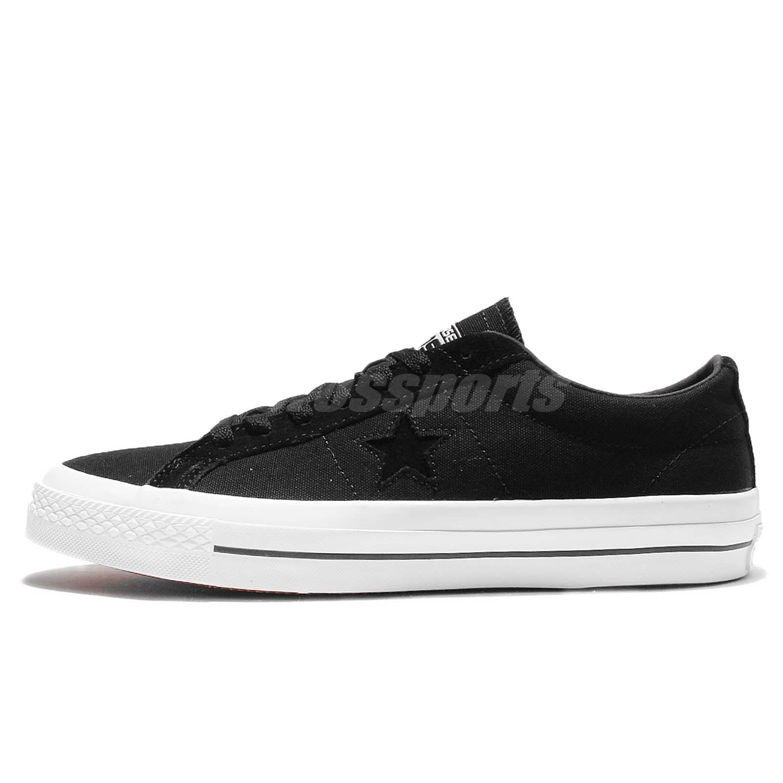converse one star ox black