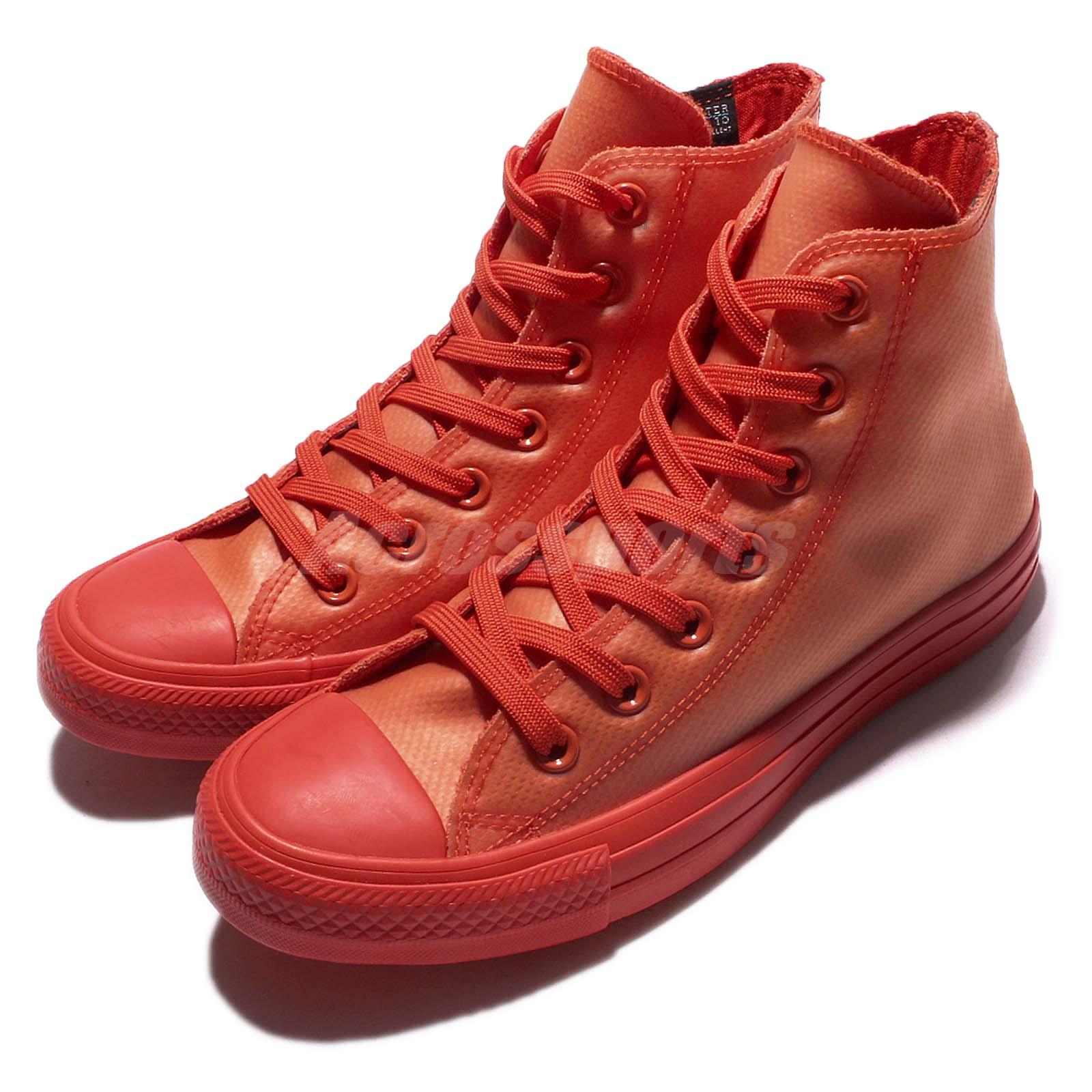 e2e305c64936 Details about Converse Chuck Taylor All Star Translucent Rubber High Top  Red Men Shoes153802C