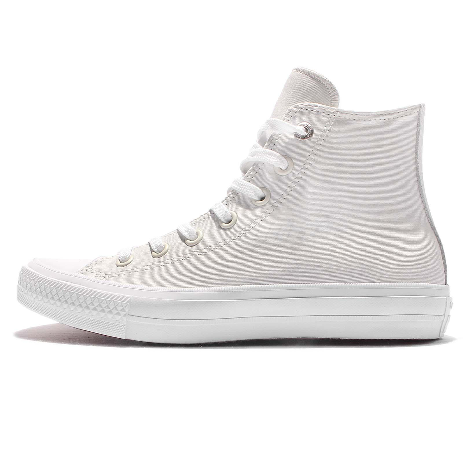 6f7be6cab595fa Converse Chuck Taylor All Star II Two-Tone Leather High Top White Men  154027C
