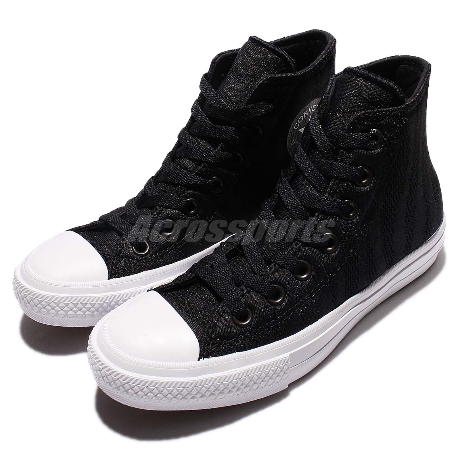 c443d2fe48bb04 Details about Converse Chuck Taylor All Star II Black White Canvas Men Women  Shoes 155493C