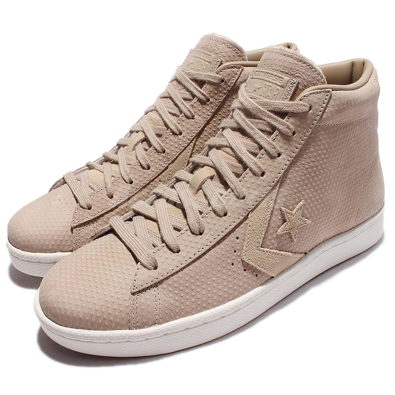 0b64bbb93ce9 Details about Converse PL 76 Pro Leather Mid Vintage Khaki Men Casual Shoes  Sneakers 155648C