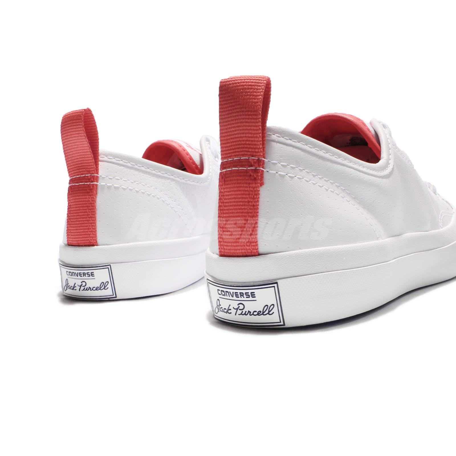 Converse jack purcell jack ox white red men heel strap shoes size chart nvjuhfo Choice Image