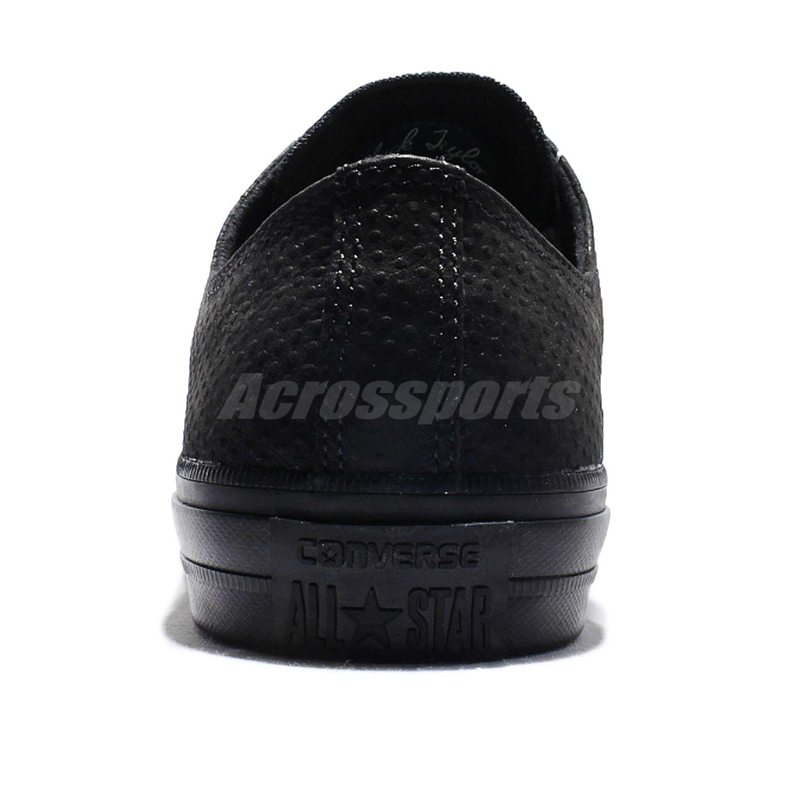 b1f431c6c004 Converse Chuck Taylor All Star II Lux Leather Low Top Black Gum Men ...