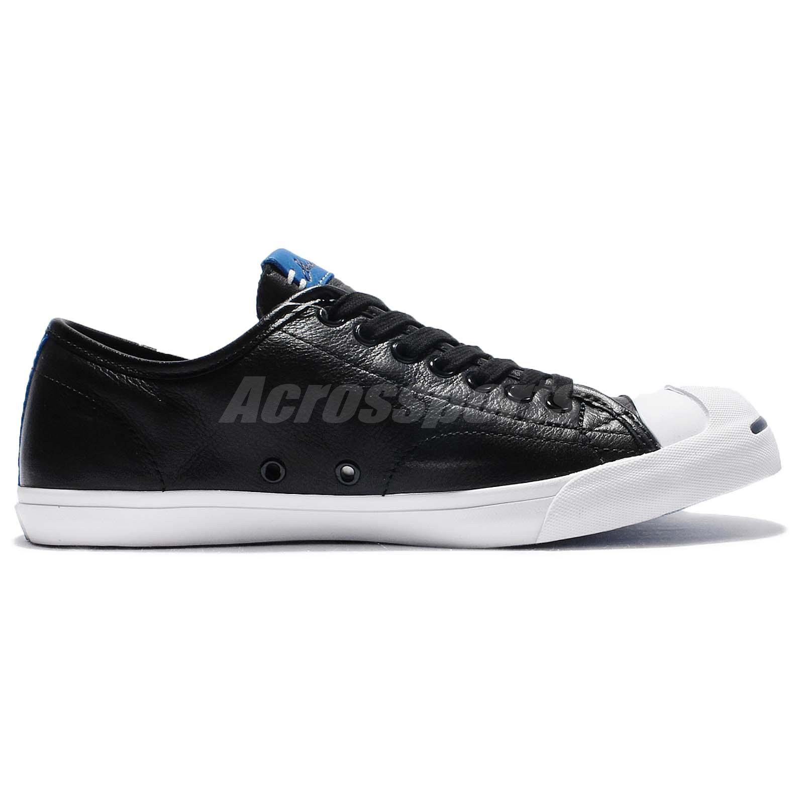 Converse Jack Purcell LP Leather Black White Casual Shoes Sneakers 156377C T8sWBcrr