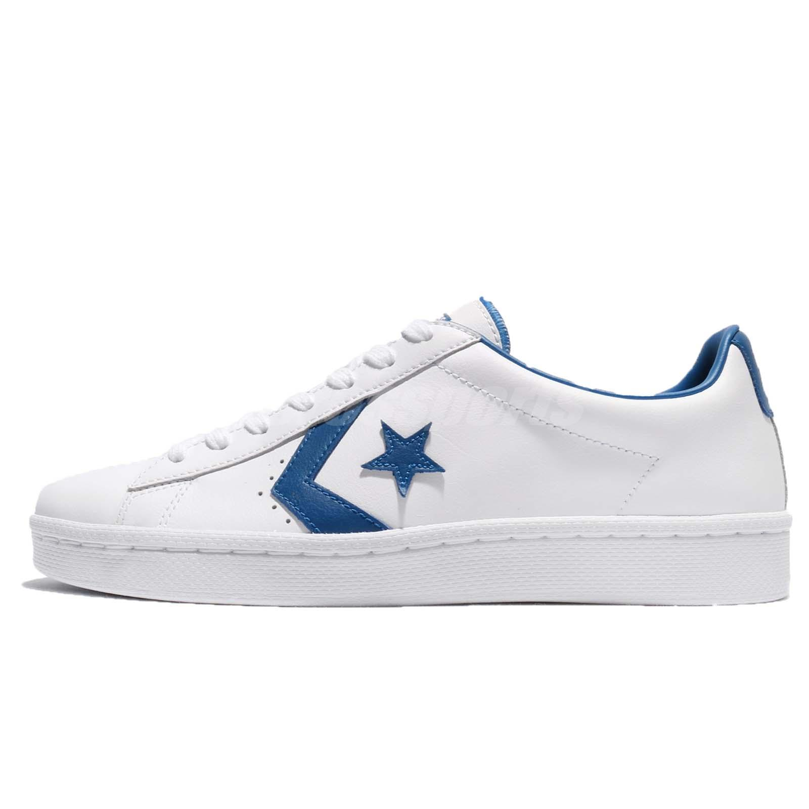Converse PL 76 Pro Leather White Blue Jay Men Vintage Shoes Sneakers 157807C 0f9e24ba5