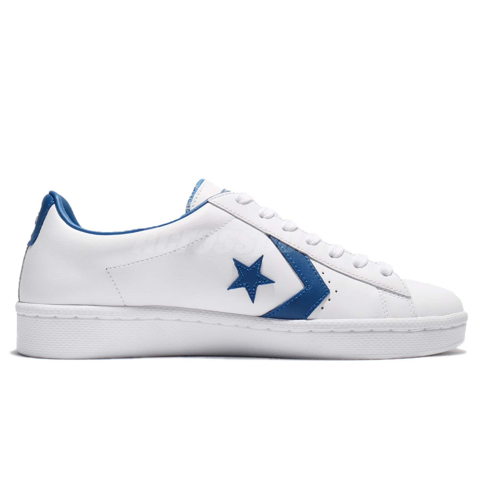 top design high fashion sale retailer Details about Converse PL 76 Pro Leather White Blue Jay Men Vintage Shoes  Sneakers 157807C