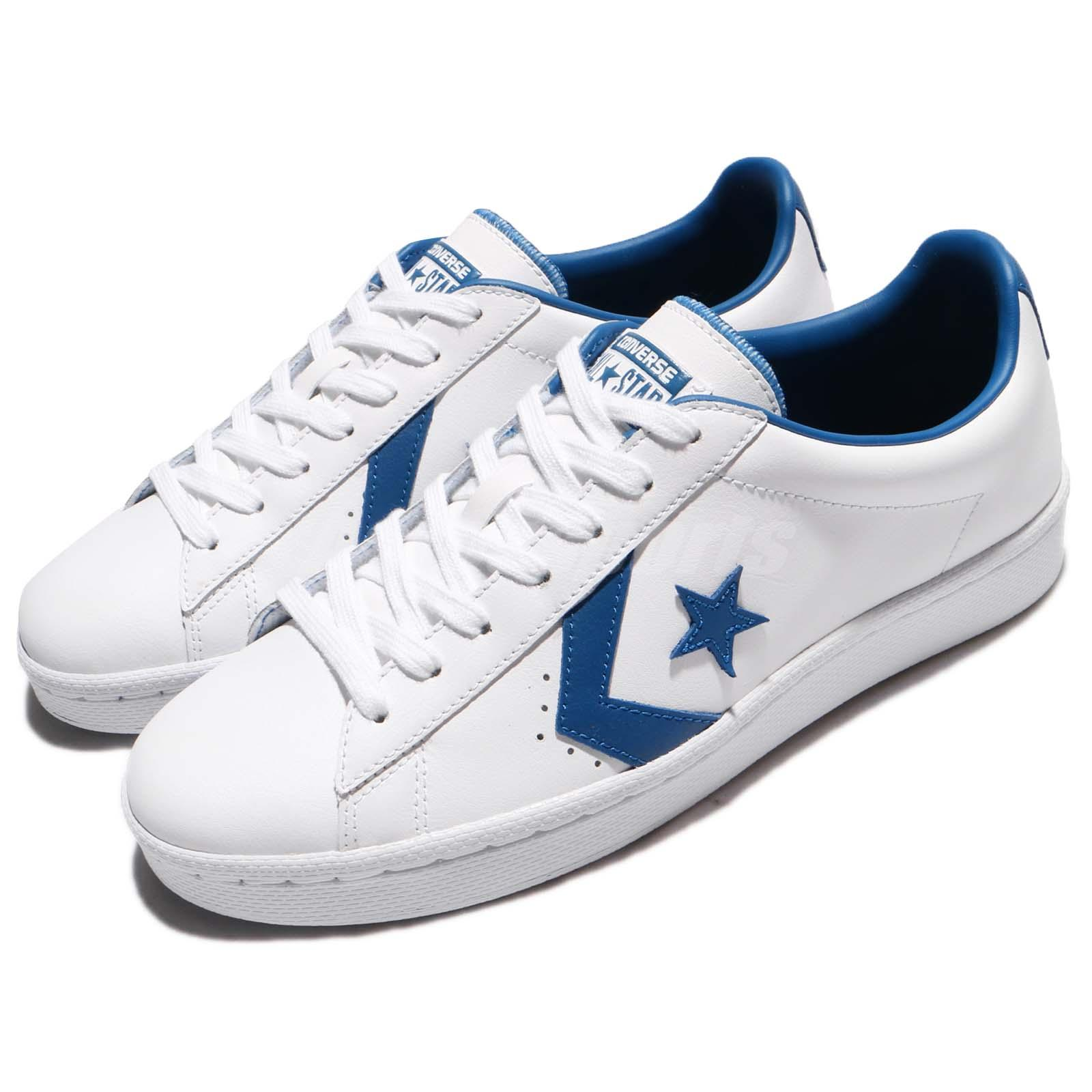 Details about Converse PL 76 Pro Leather White Blue Jay Men Vintage Shoes  Sneakers 157807C 6b36e2b1f