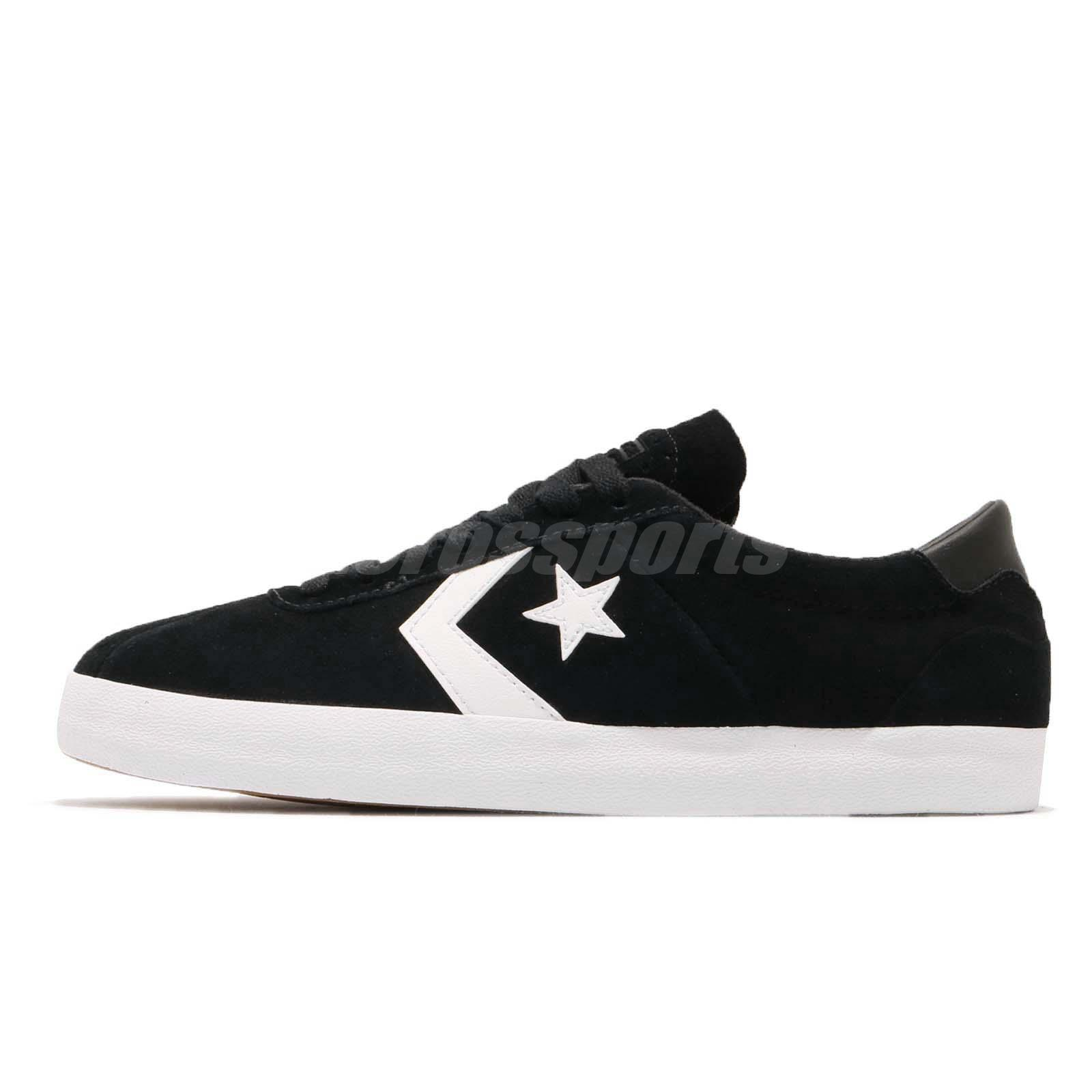 483db34a5162 Converse Breakpoint Pro Low Black White Suede Men Women Shoes Sneakers  159577C