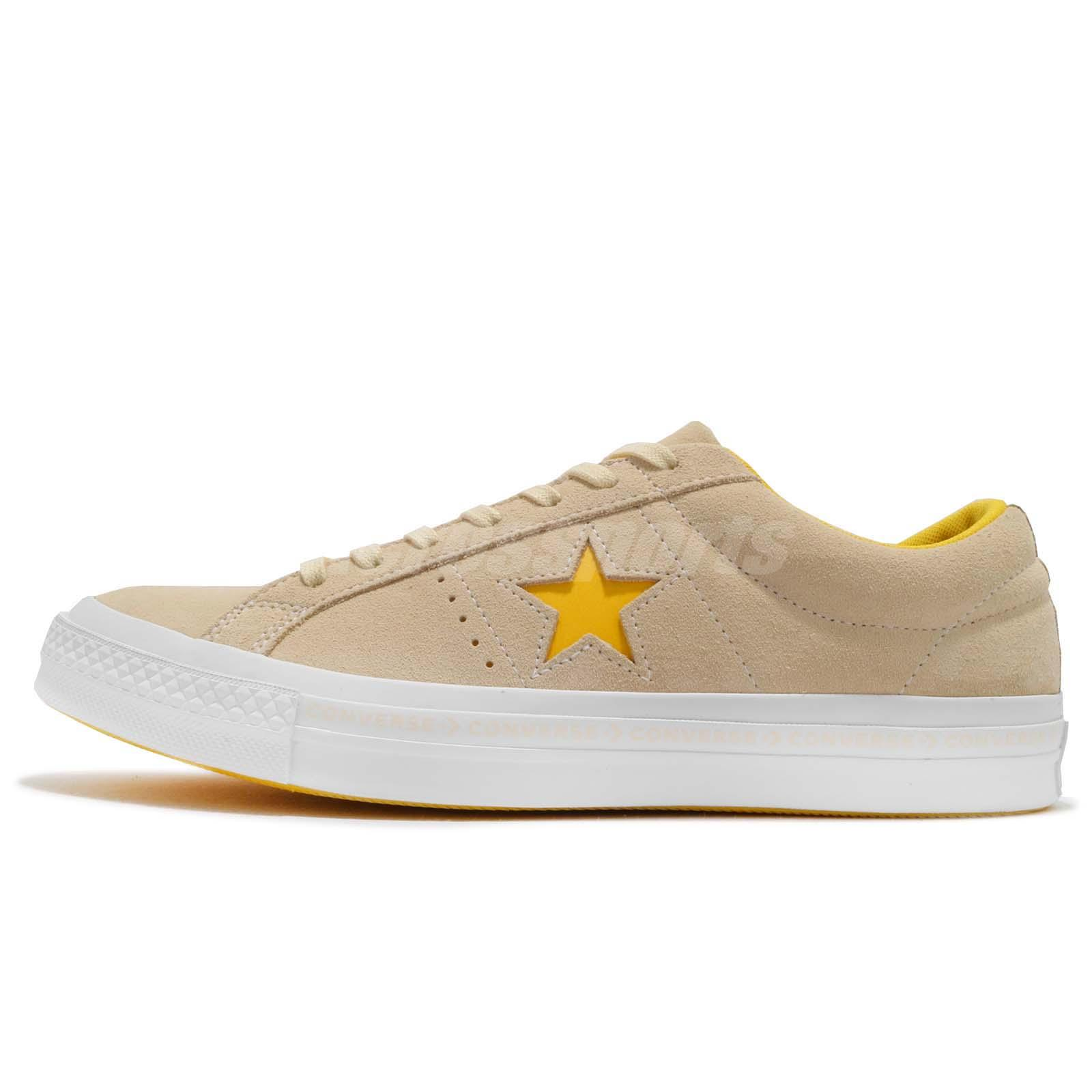 ONE STAR - OX PINESTRIPE - Sneaker low - vanilla/solar power/white