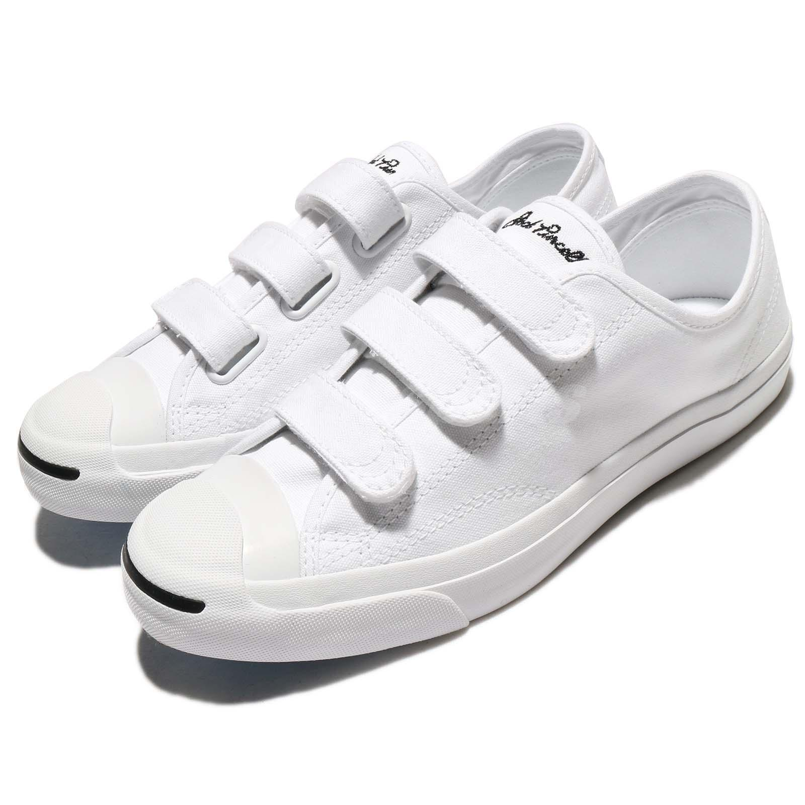 56d7ed80e14 Details about Converse Jack Purcell 3V Canvas White Men Women Shoes Sneakers  Trainers 160238C
