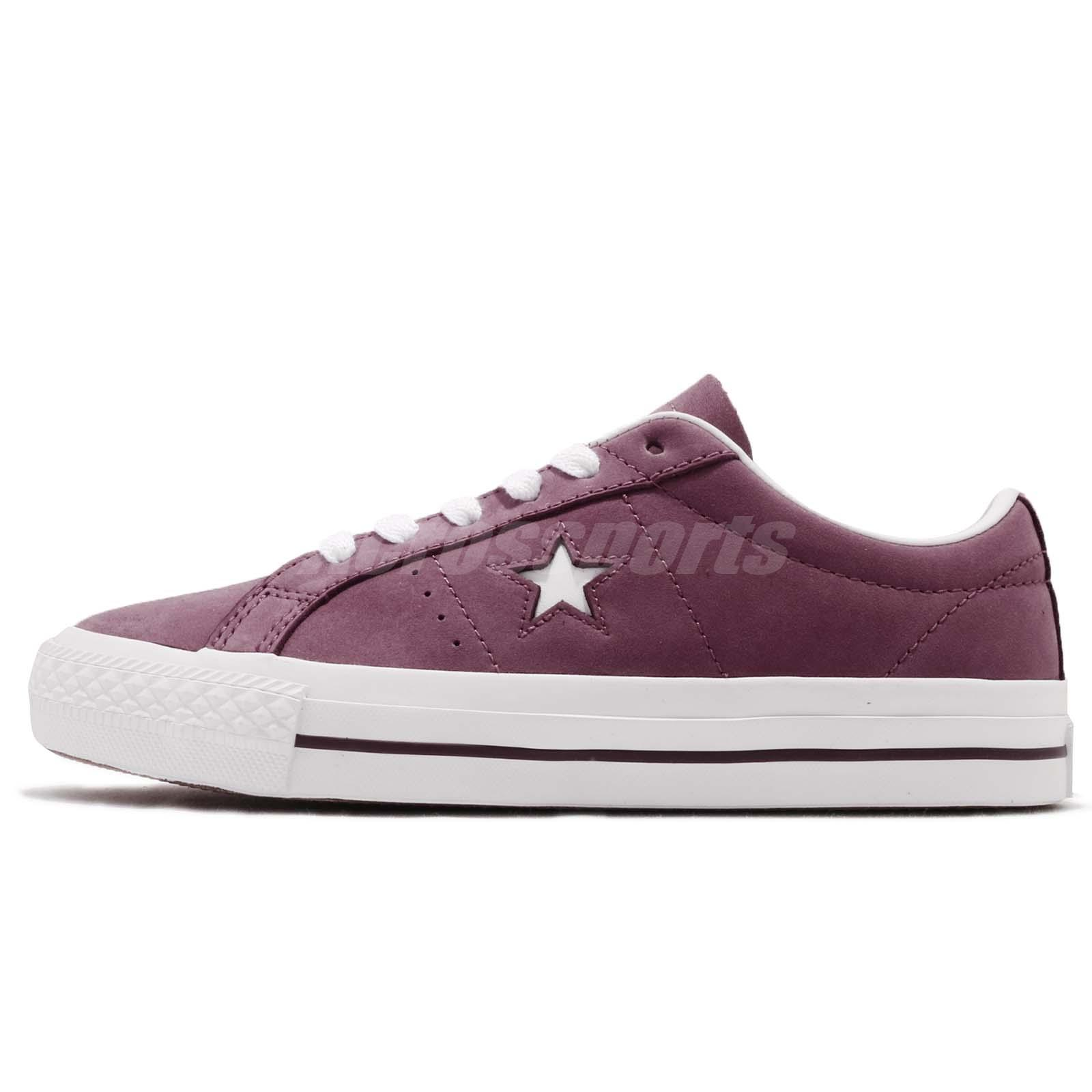 21f93bc46db7 Converse One Star Pro Purple White Men Casual Classic Shoes Sneakers 160536C