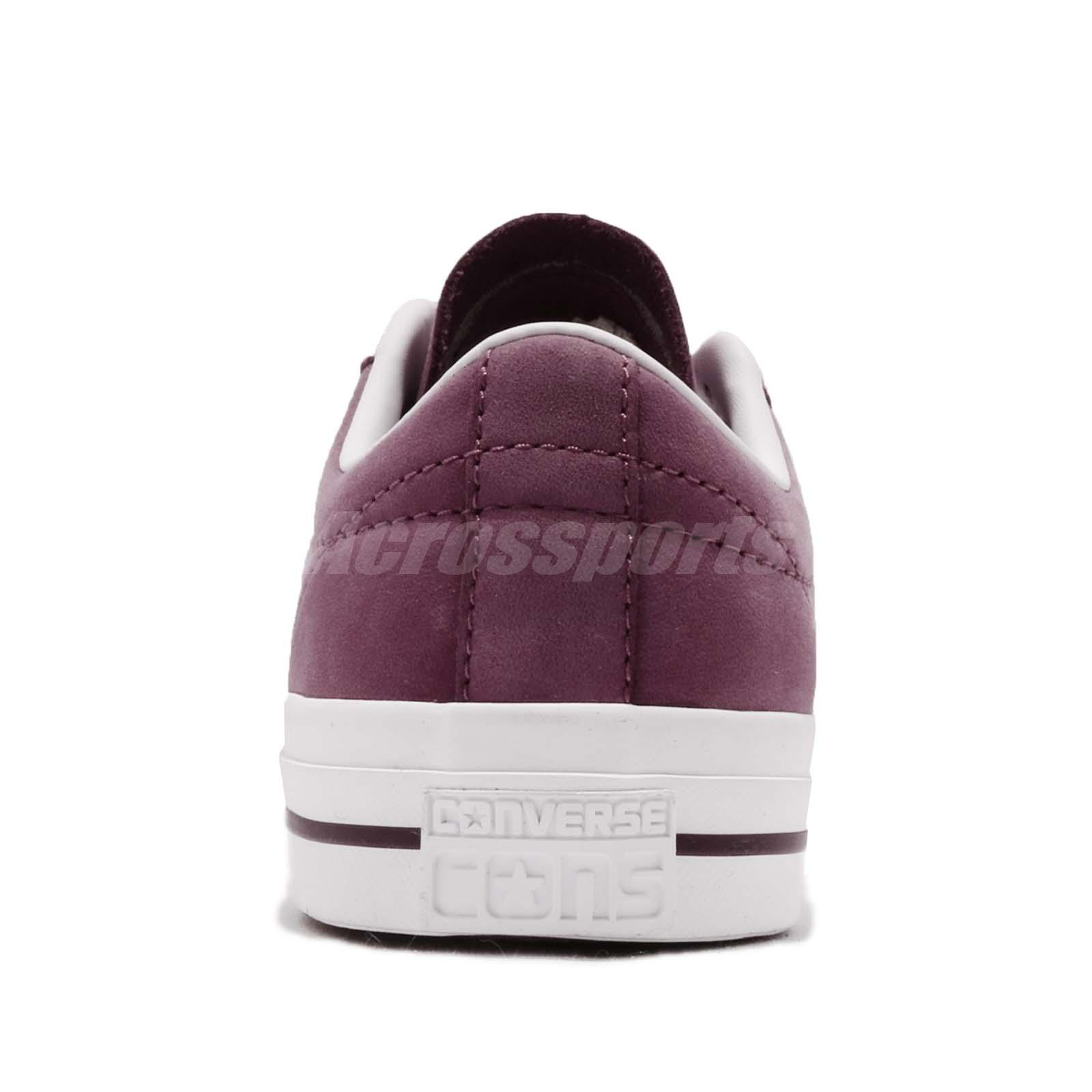 88286a2a51d5 Converse One Star Pro Purple White Men Casual Classic Shoes Sneakers ...