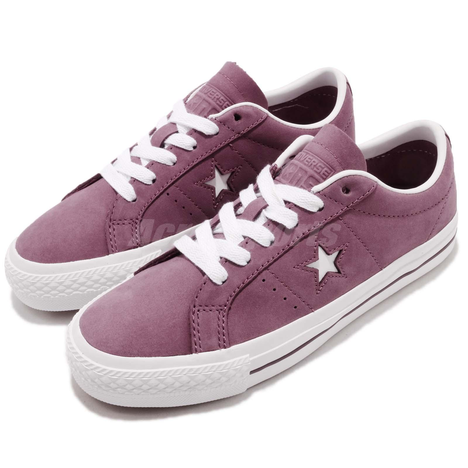 Converse One Star Pro Purple White Men Casual Classic Shoes Sneakers 160536C