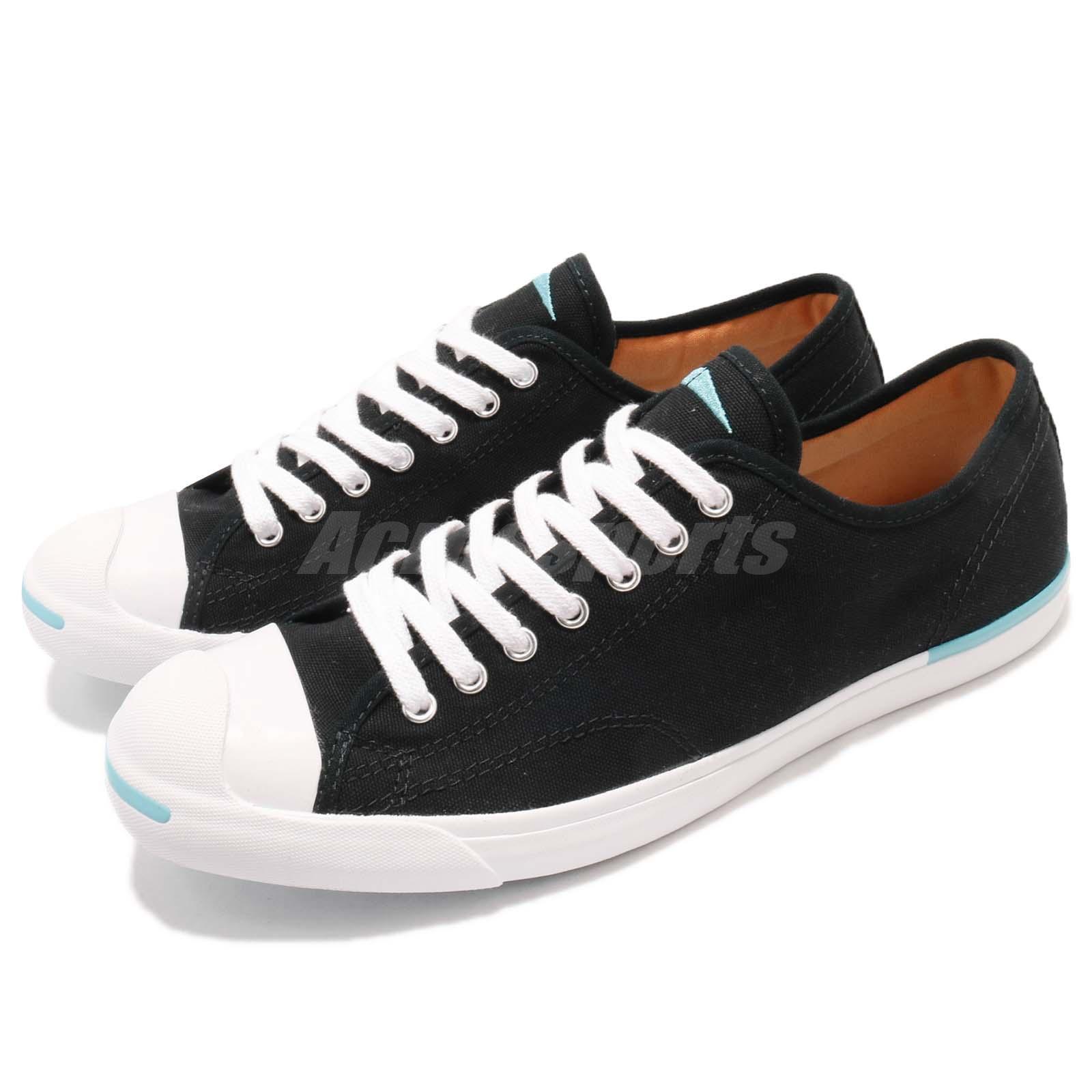 a88ea954bea1 Details about Converse Jack Purcell LP L S Black White Canvas Men Women  Casual Shoes 160815C