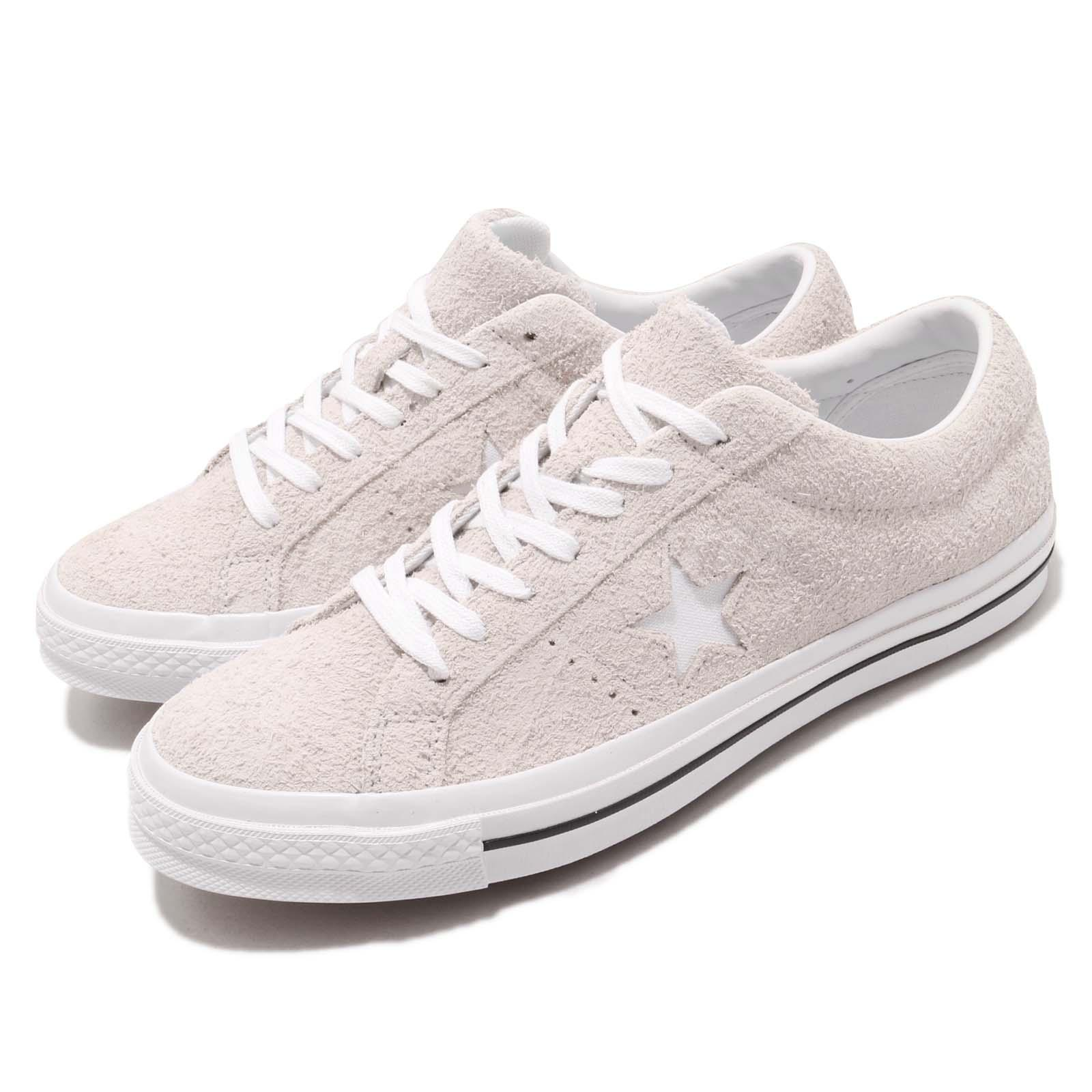 Converse One Star OX Grey White Suede