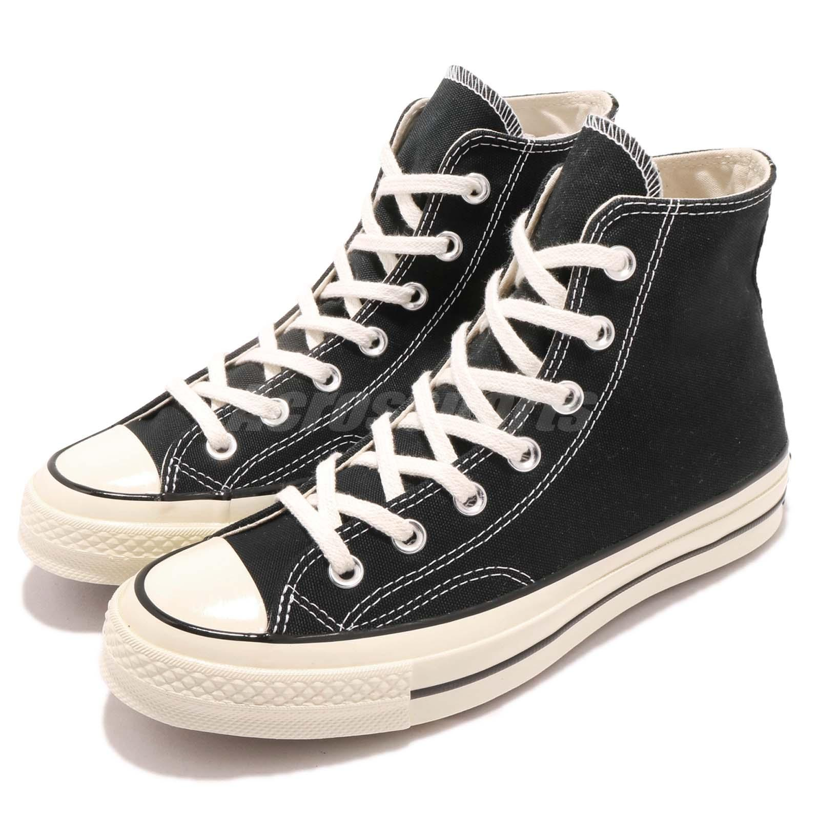 e9a8dedac937 Details about converse first string chuck taylor hi black canvas men women  jpg 1600x1600 First string