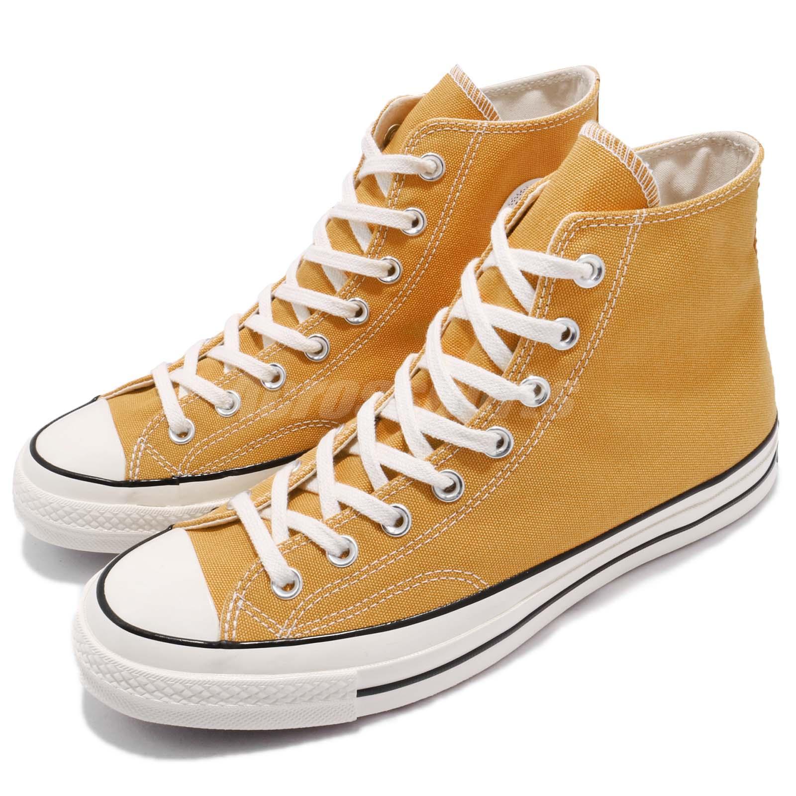 0d103d4abf99 Details about Converse First String Chuck Taylor All Star 1970 High Yellow  Men Women 162054C
