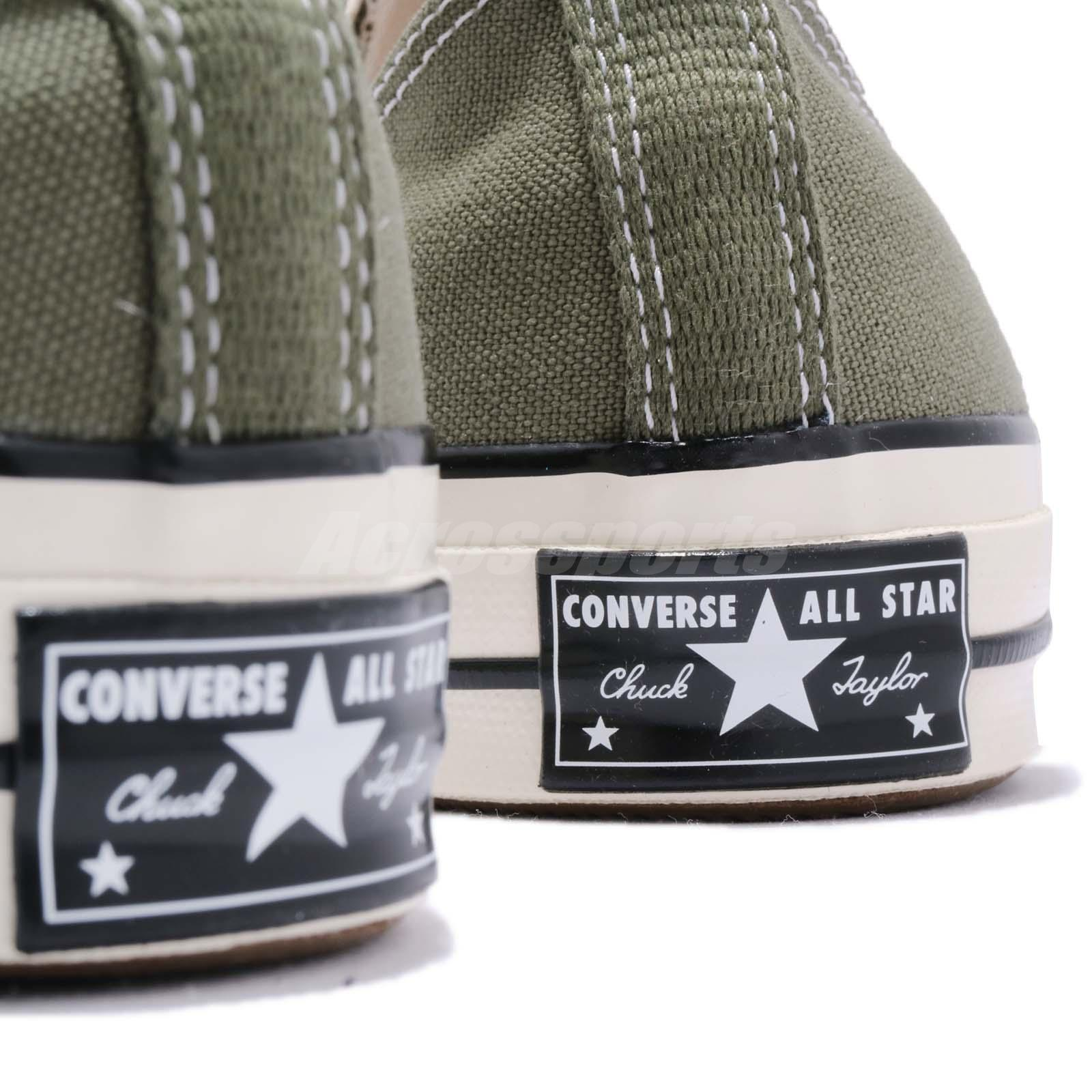 755435d47422 Converse First String Chuck Taylor All Star 70 OX Olive Men Women ...
