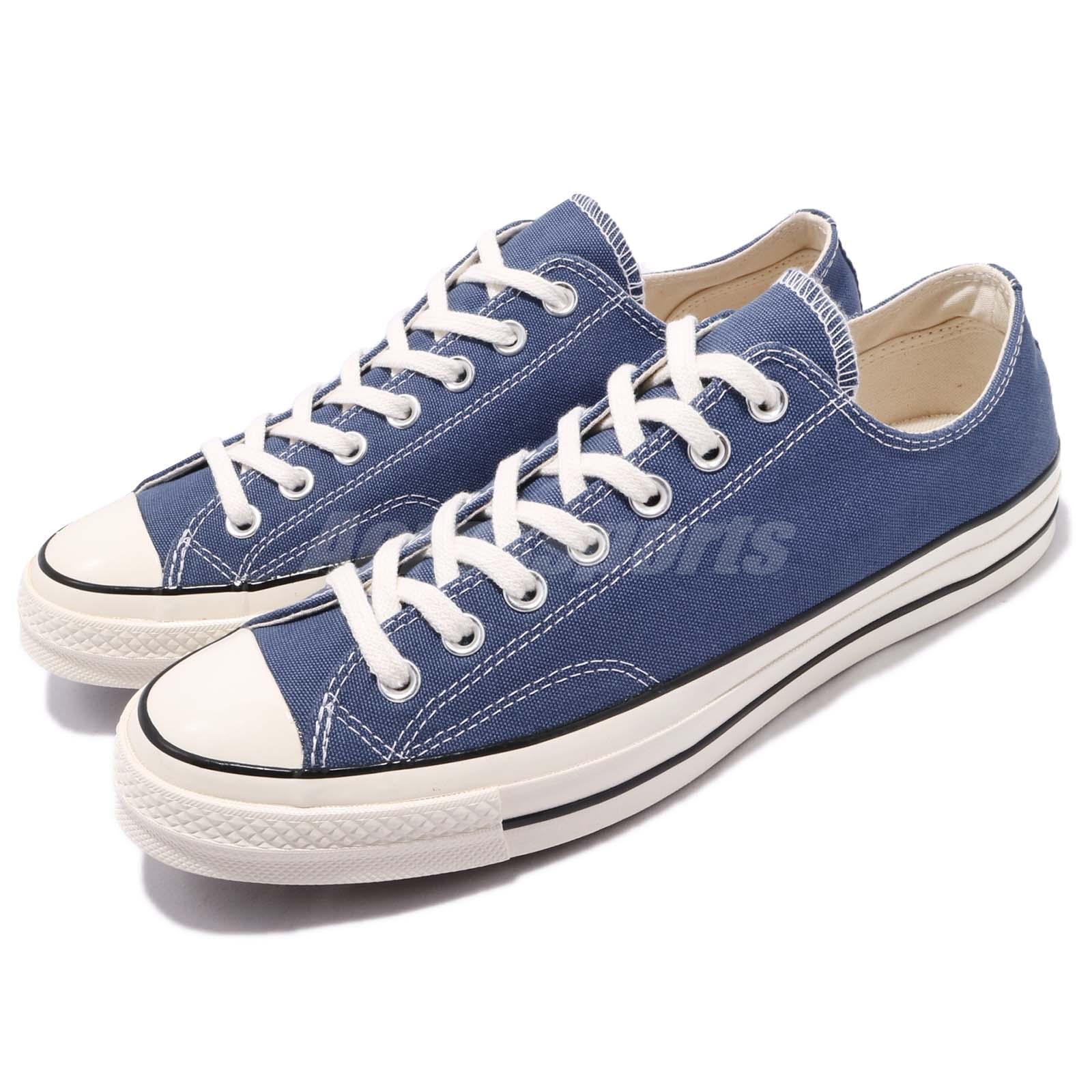 98cc9c628919 Details about Converse Chuck Taylor All Star 70 1970s OX Navy Blue Canvas Men  Shoe 162064C