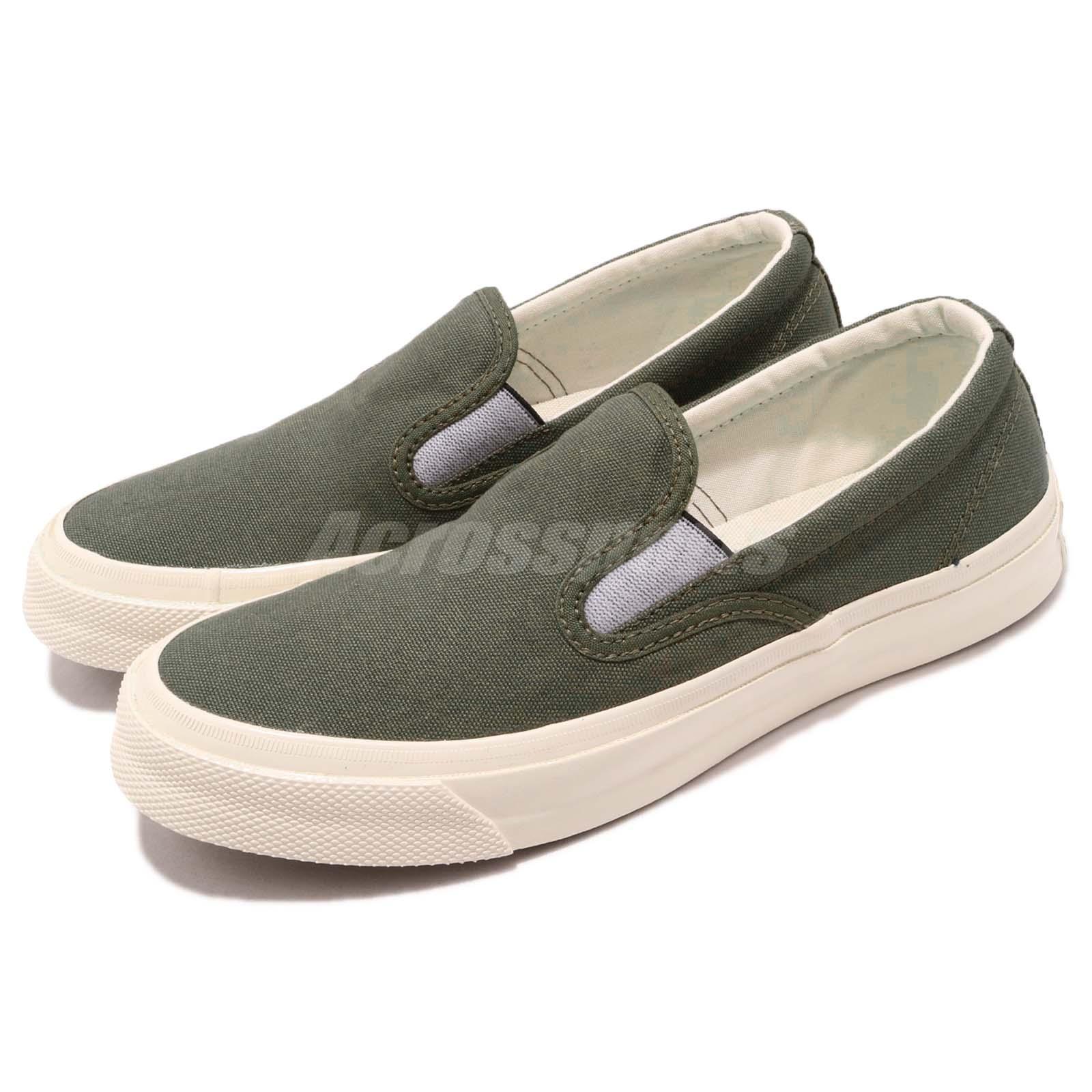 9bfbc51cdb23 Details about Converse Chuck Taylor All Star DeckStar Olive Green Men Slip  On Shoes 162159C