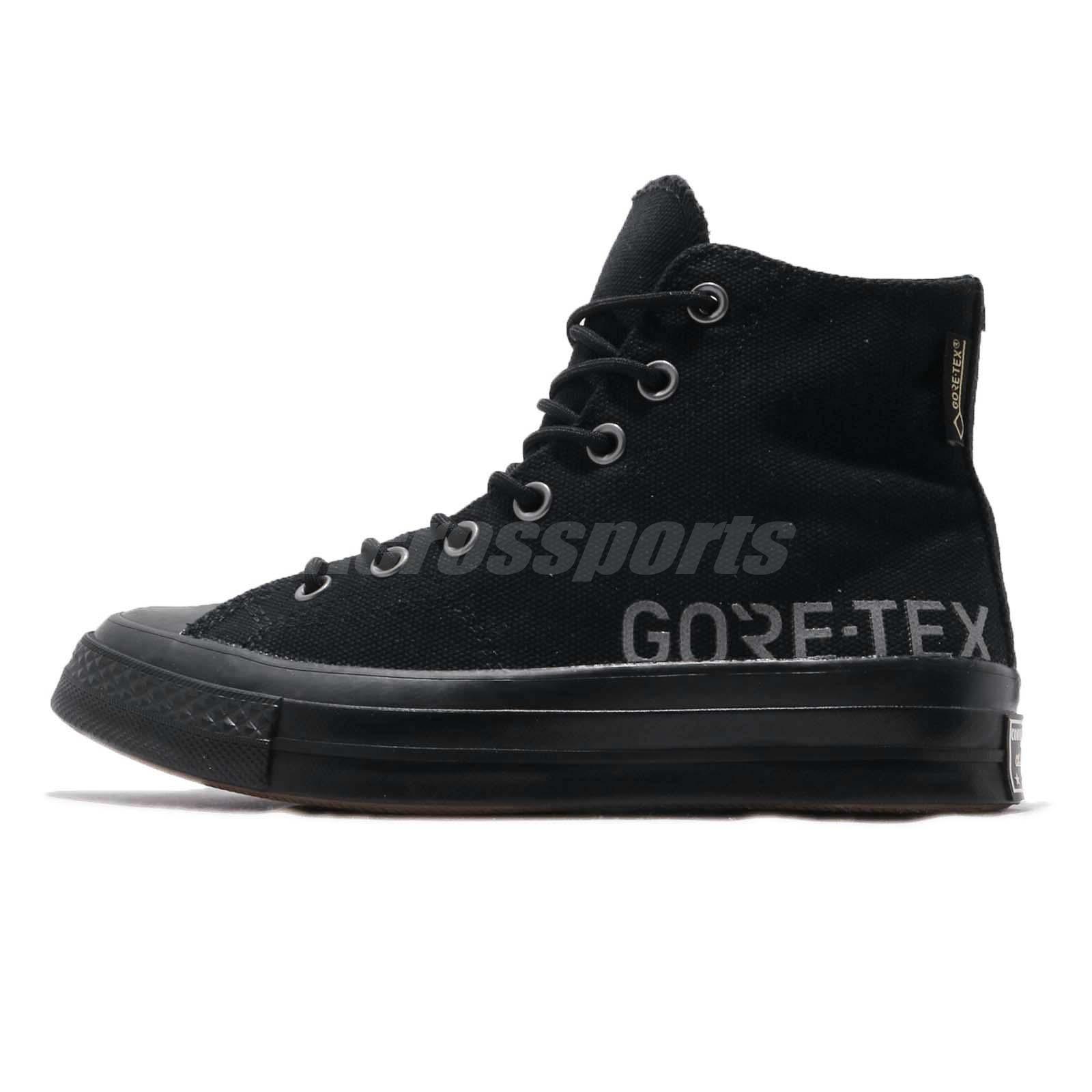 15a3810f00b4bb Converse First String Chuck Taylor All Star 70 Hi Gore-Tex Men Black 162350C