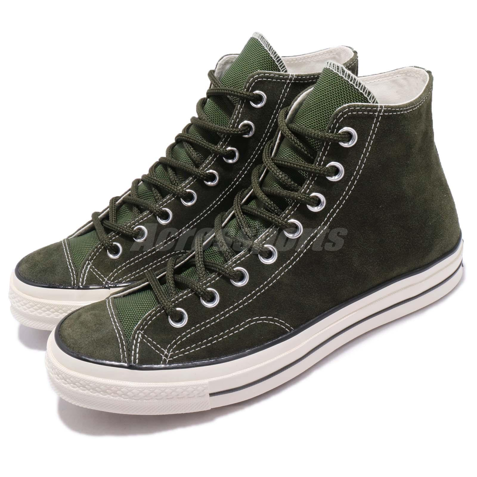1fc823190579 Details about Converse First String Chuck Taylor All Star 70 Hi Green Men Women  Shoes 162371C