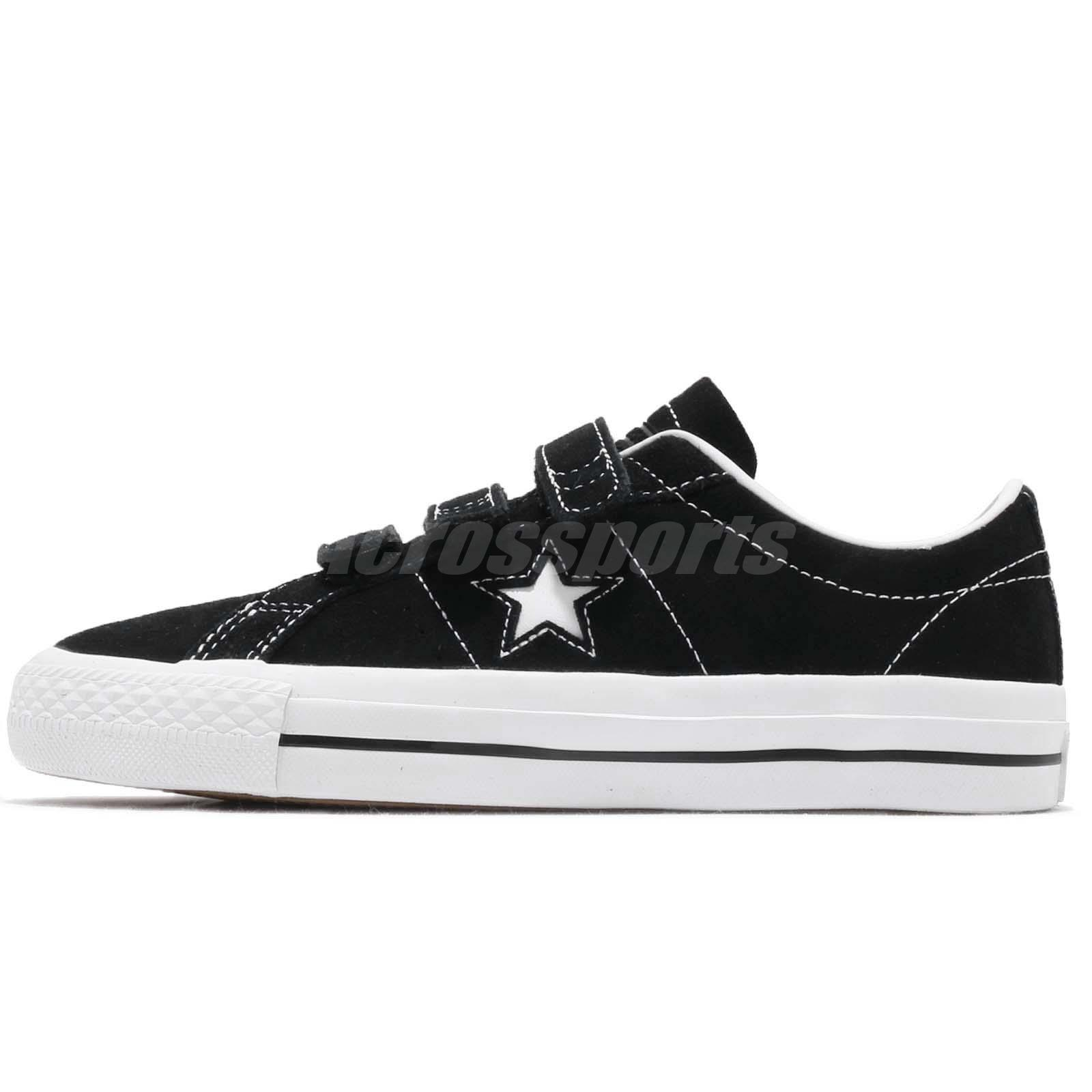 a9c4e683ce8 Converse One Star Pro 3V OX Black White Men Women Skate Boarding Shoes  162518C