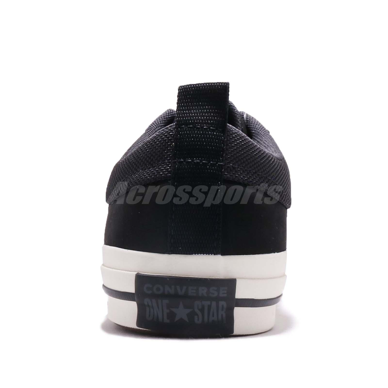Details about Converse One Star Black Men Women Skate Boarding Casual Shoes Sneakers 162545C