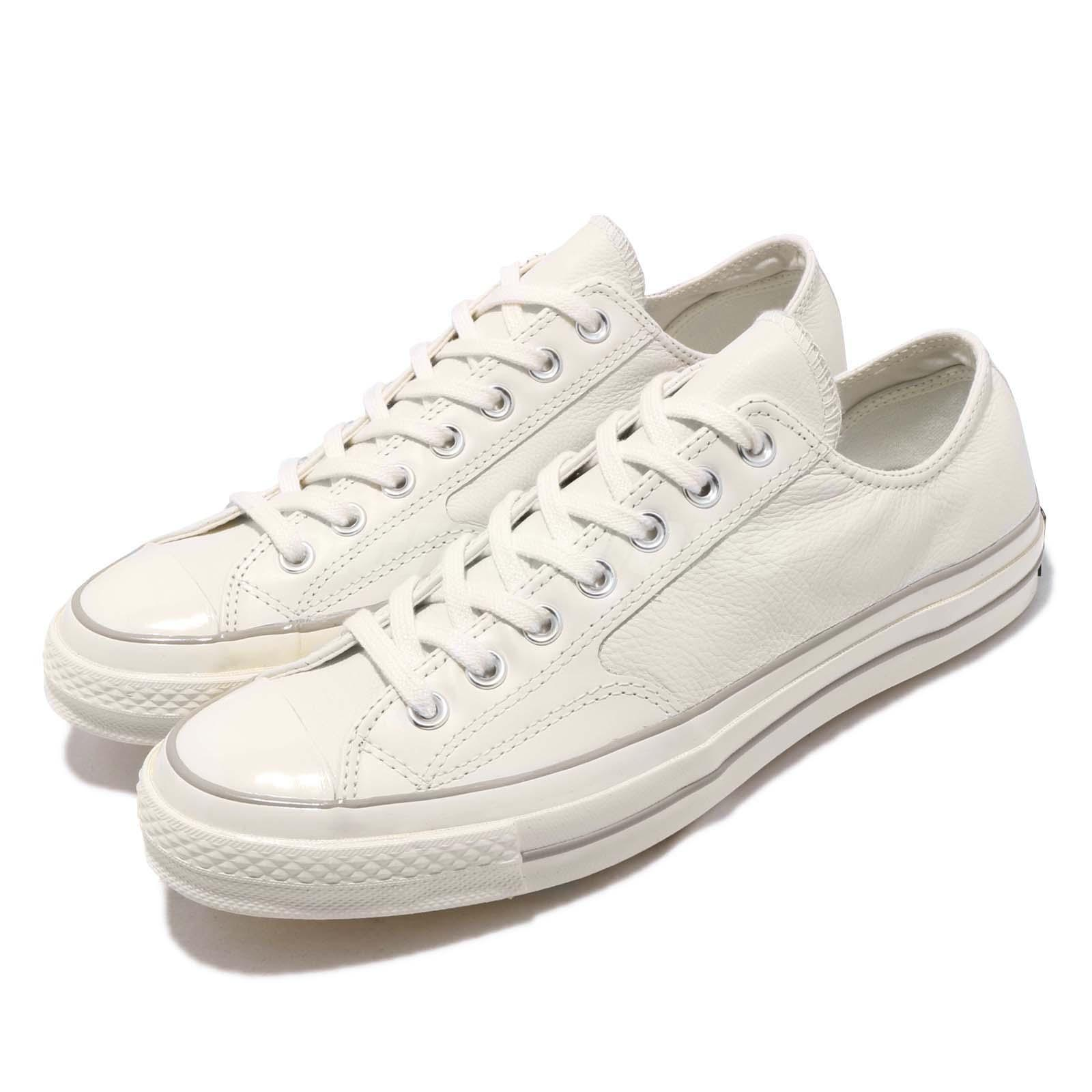 3bd1527b8fde Details about Converse First String Chuck Taylor All Star 70 OX Egret Men  Women Shoes 163329C
