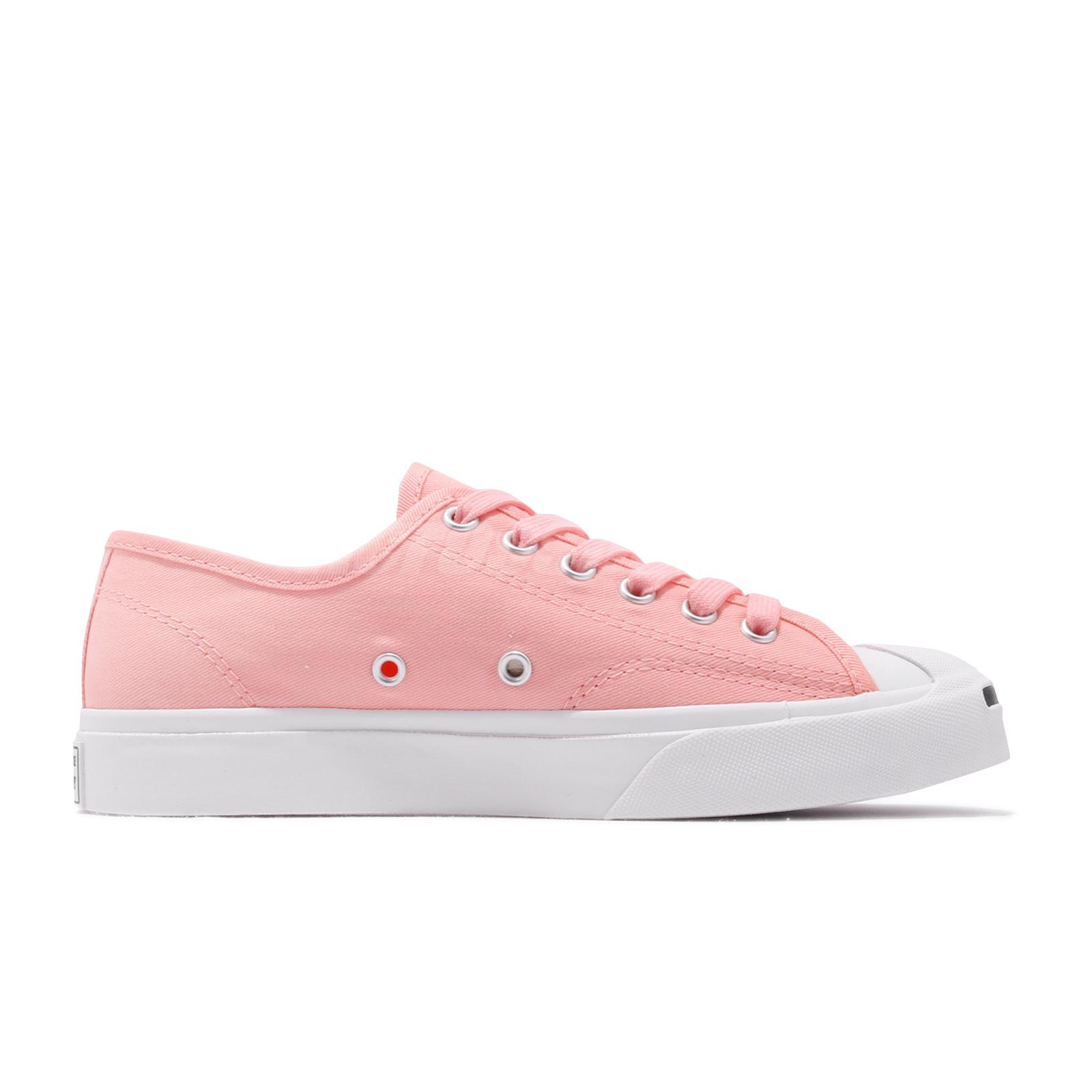 641dff80b56e Converse Jack Purcell Pink White Mens Womens Classic Casual Shoes ...