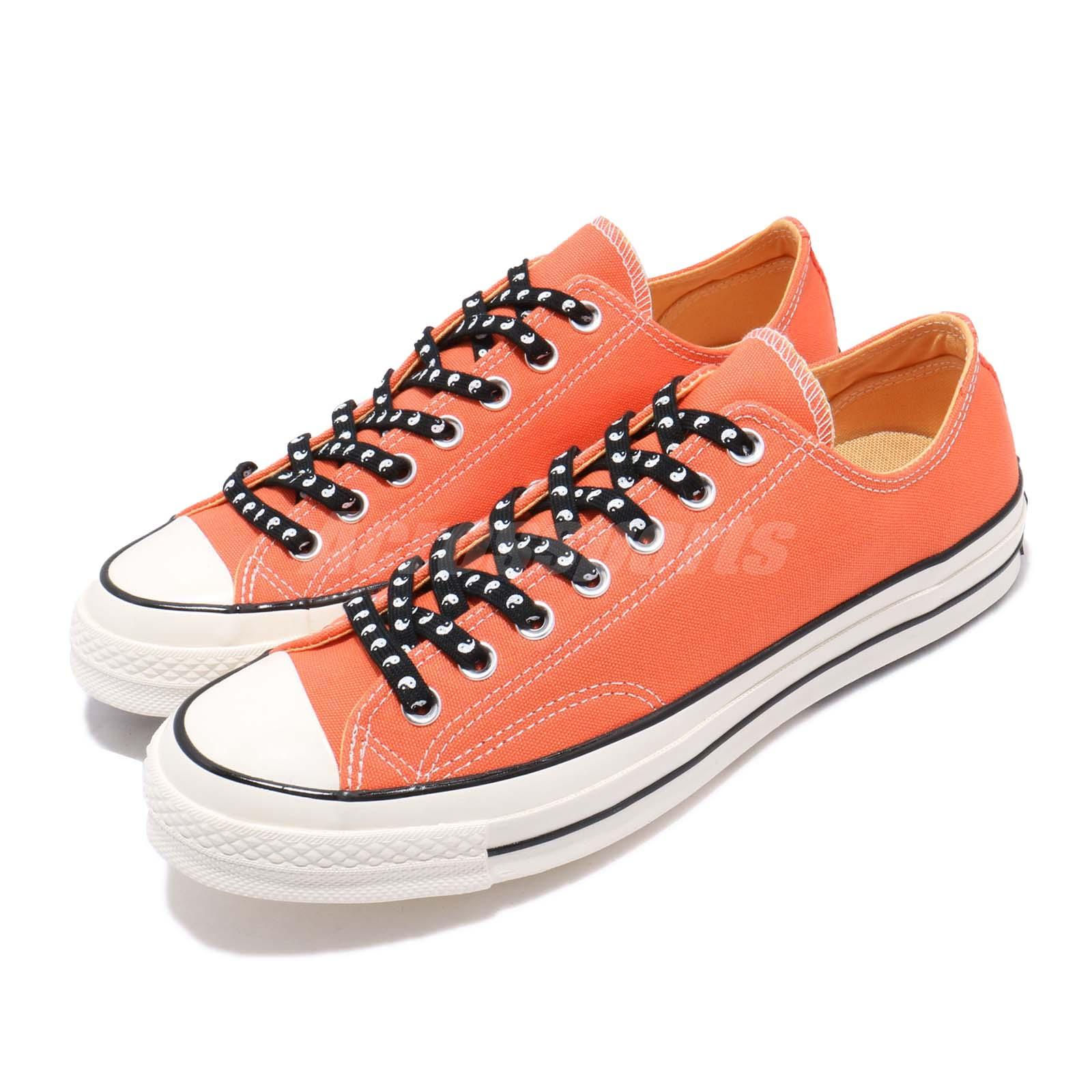 buy popular 4d357 7e484 Details about Converse First String Chuck Taylor All Star 70 OX Orange Men  Women Shoes 164213C