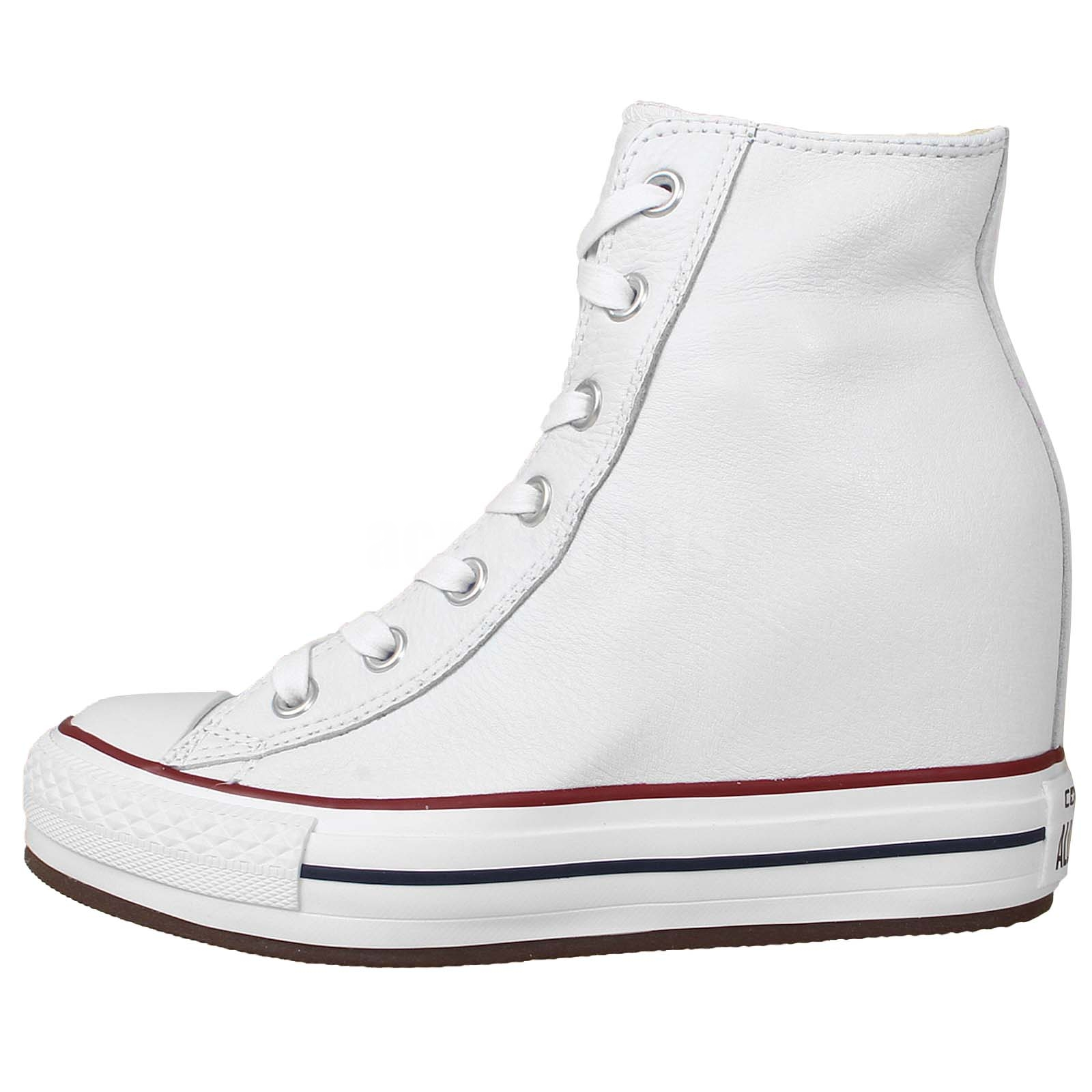 Converse Chuck Taylor All Star Platform Plus White Womens ...