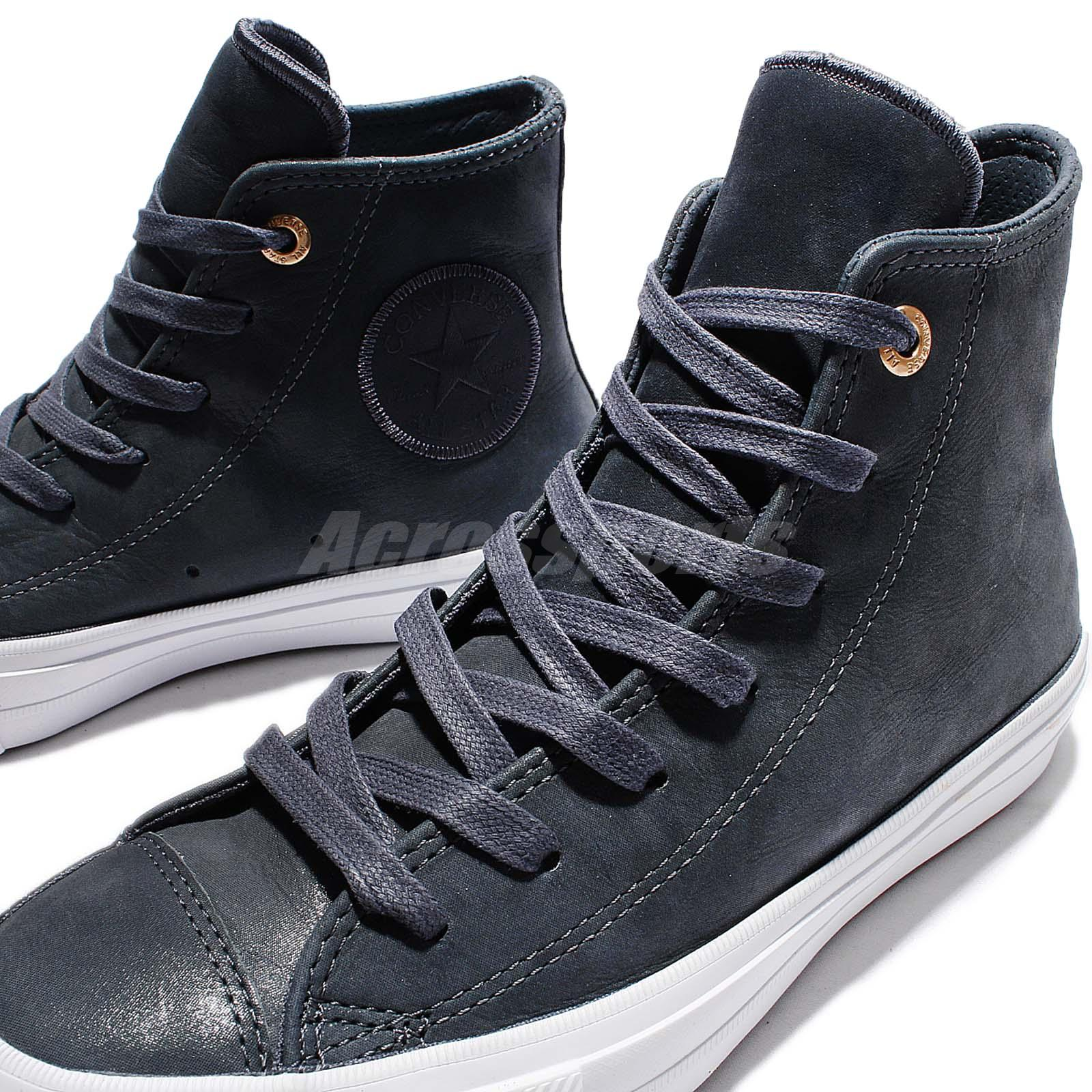 719fb9a9c529 Converse Chuck Taylor All Star II 2 Craft Leather Grey White Women ...