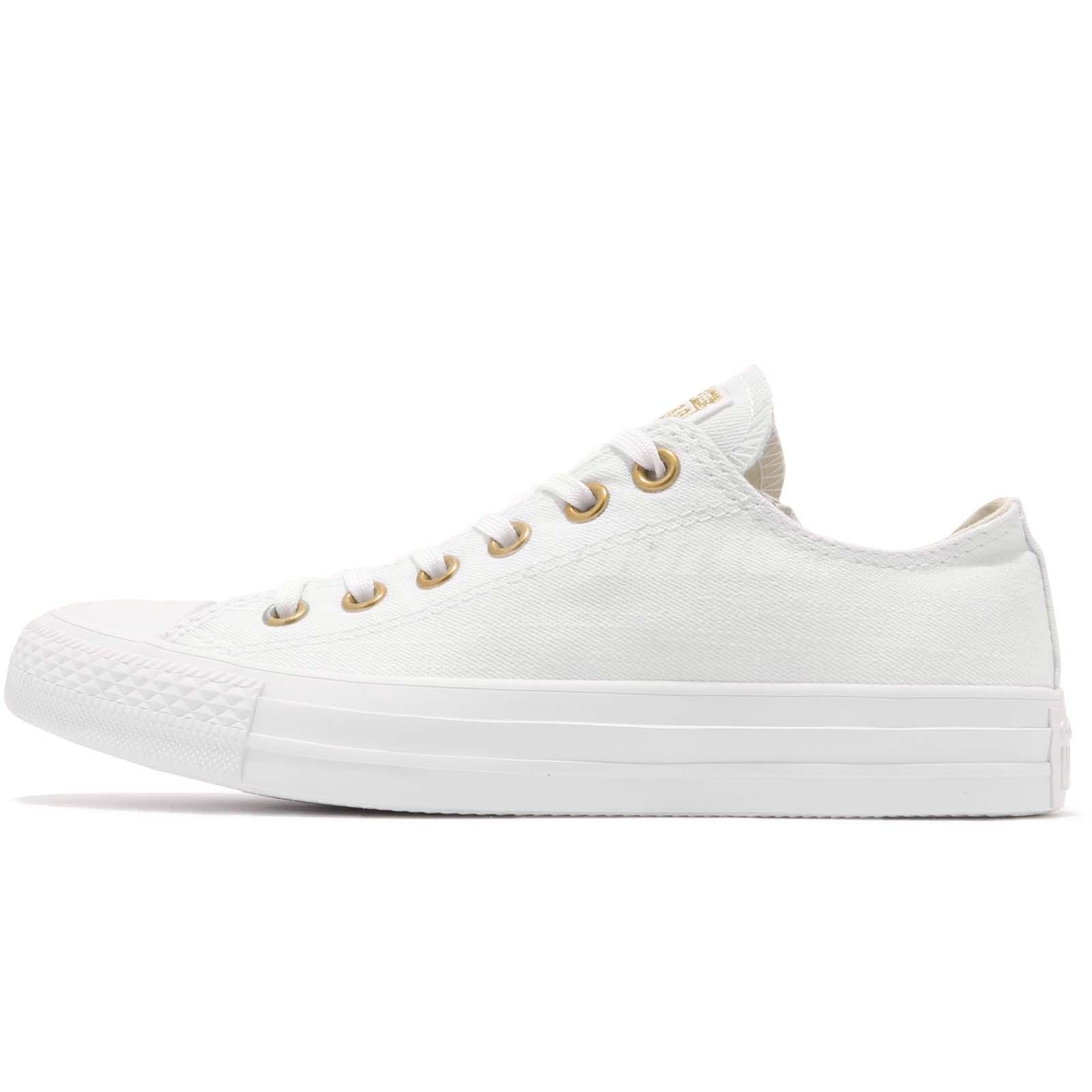 d7e95d9d508d9 Converse Chuck Taylor All Star Canvas White Gold Women Shoes Sneakers  560643C - mainstreetblytheville.org