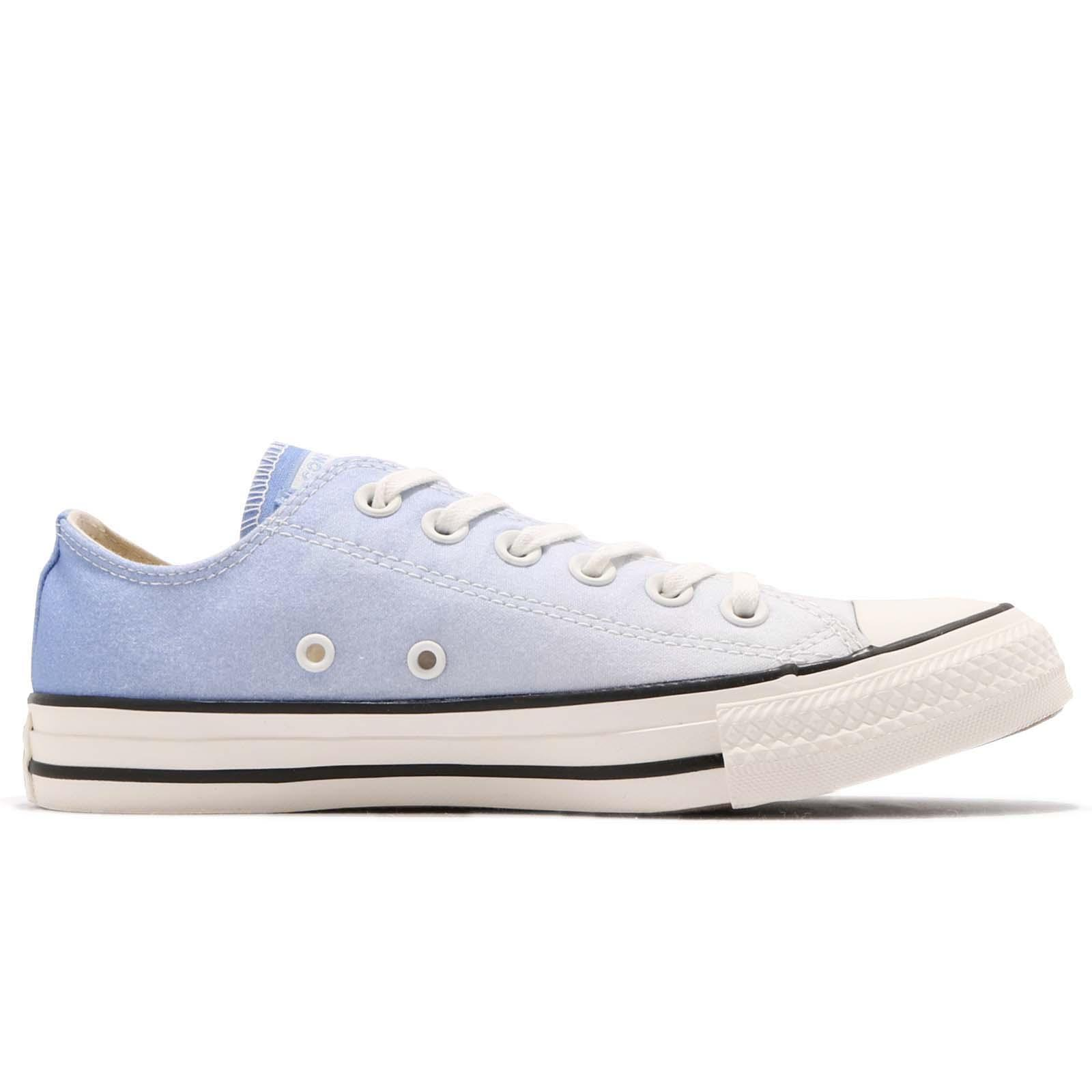 c91bec4370513 Converse Chuck Taylor All Star OX White Blue Black Women Casual ...