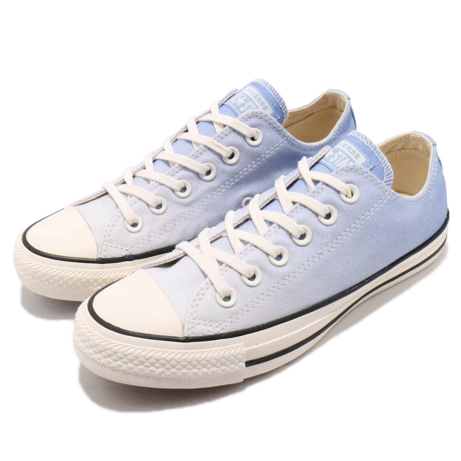 a3763cd45bd7 Details about Converse Chuck Taylor All Star OX White Blue Black Women  Casual Shoes 561725C