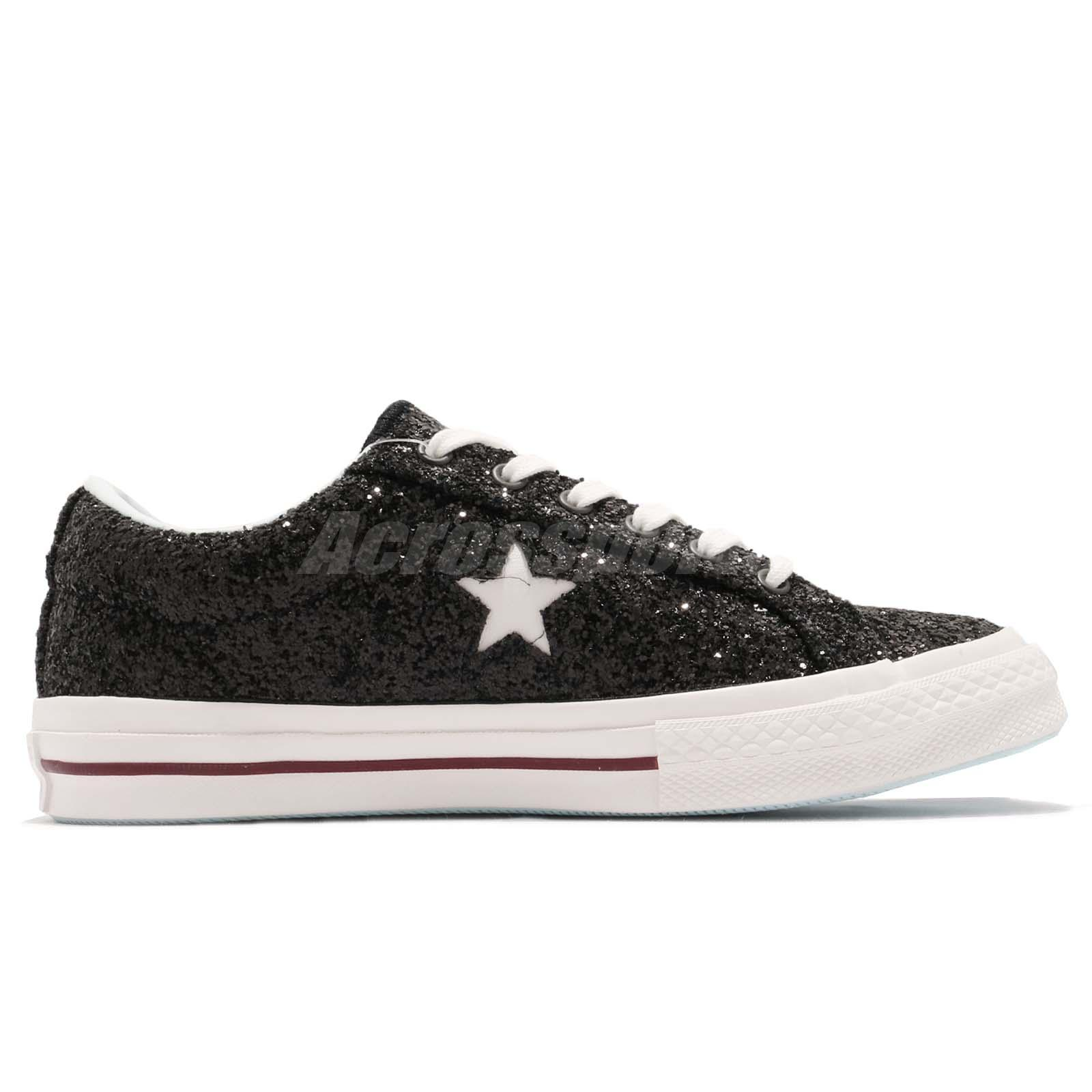 d346ae3a013f Converse x Chiara Ferragni One Star OX Black Blue White Women Shoes ...