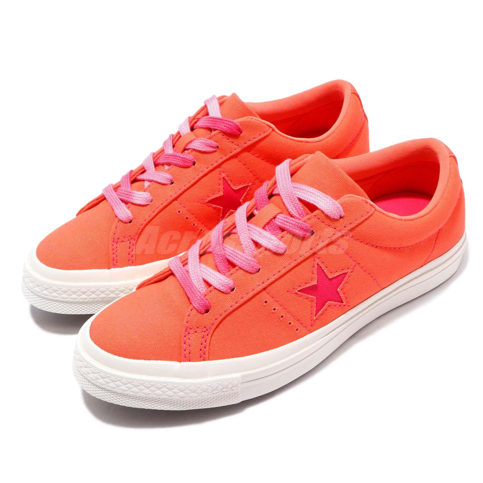 100% quality best service hot sales Details about Converse One Star OX Sunbaked Orange Pink Gum Women Casual  Shoes Sneaker 564152C