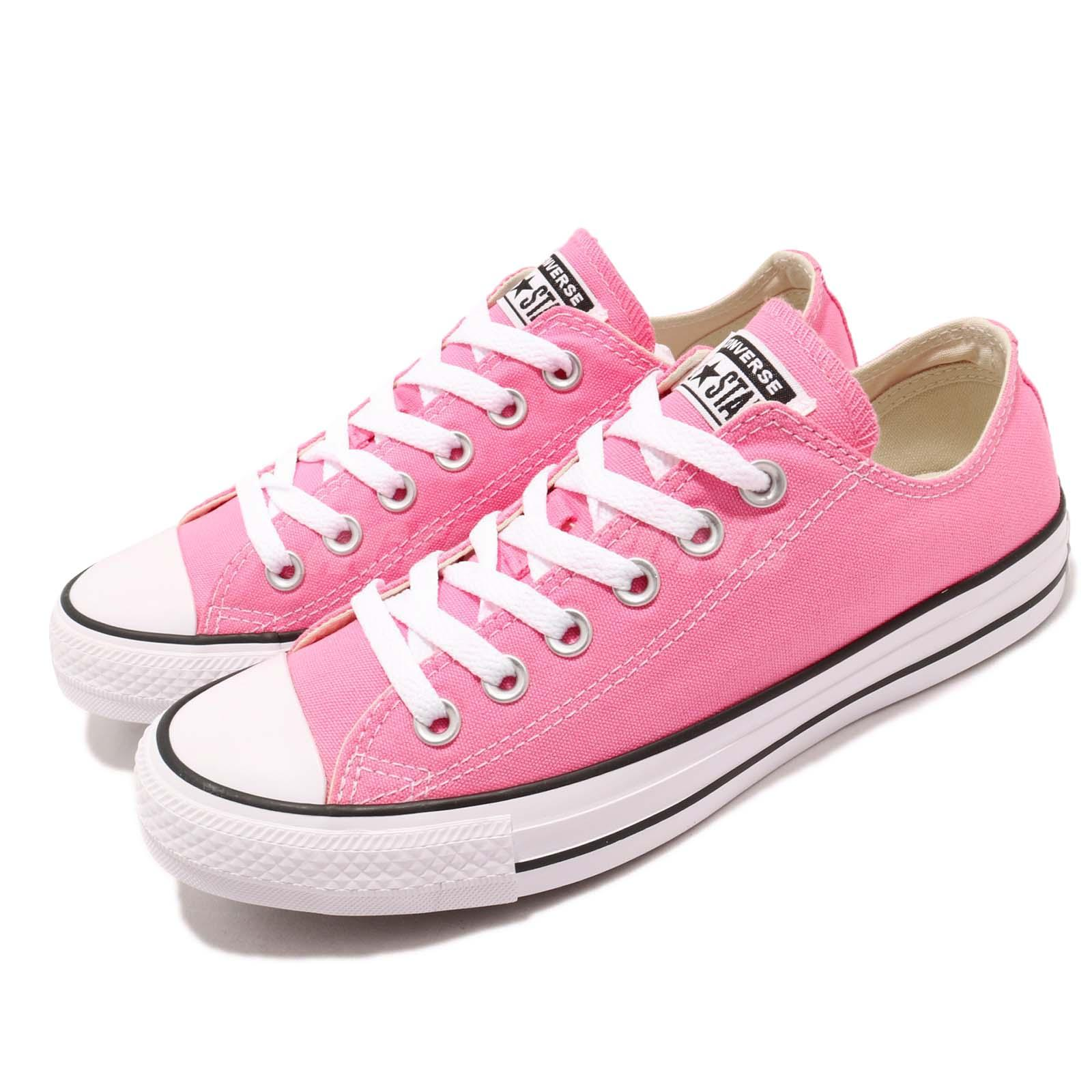 Converse Chuck Taylor All Star OX Low Pink White Men Women Casual ... 0fb0f99d5