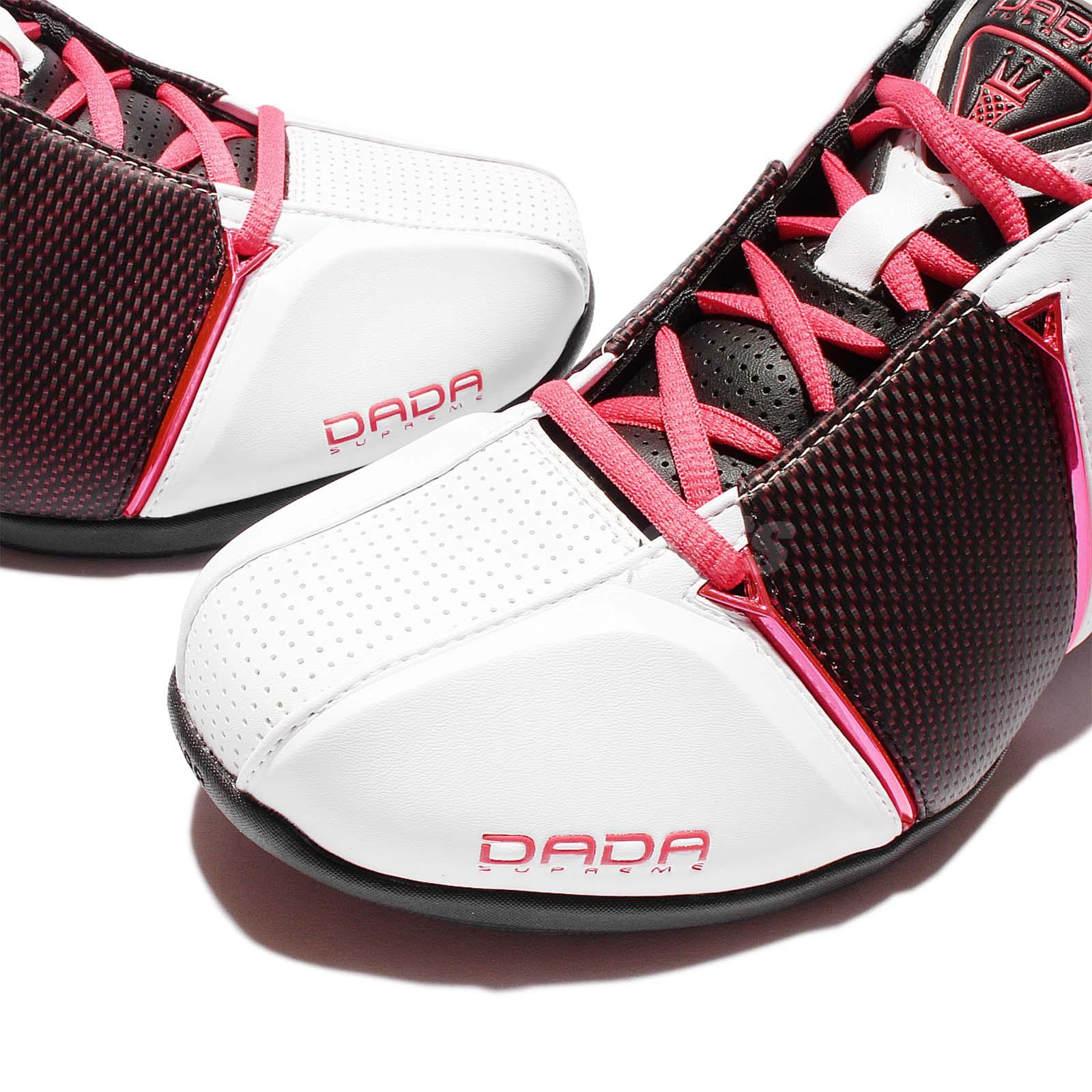 bf9e92b4d380 dada supreme mens dada cdubbz black red basketball sneaker