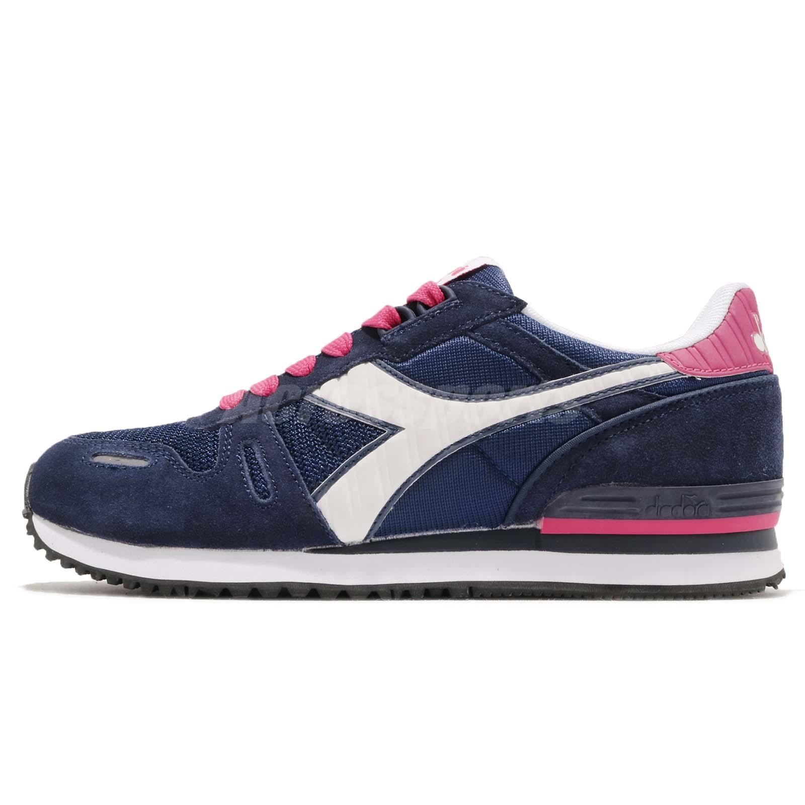 da0101ca Details about Diadora Titan II W Blue Pink White Men Casual Shoes Sneakers  DA160825-C4380