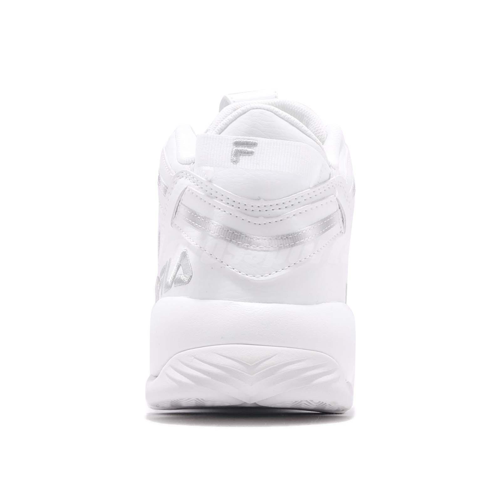 Fila Spaghetti 95 Jerry Stackhouse White Grey Men Basketball Shoes ... 92eb68f08