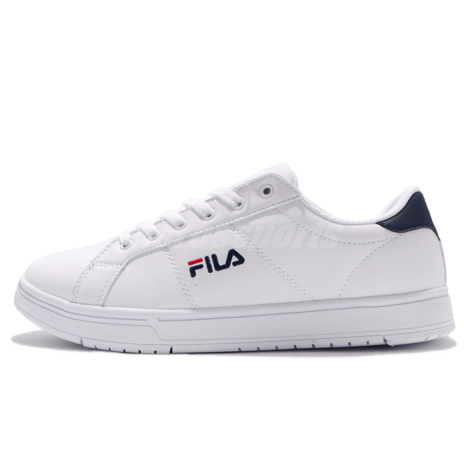 241516db0b95 Fila C322S Low Cut White Navy Men Casual Shoes Sneakers