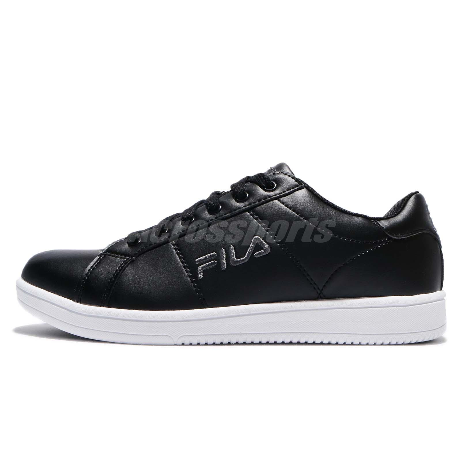 Fila C374R Heritage Footwear Black White Leather Men Casual Shoes Sneakers 7b0ccc3cc7e6