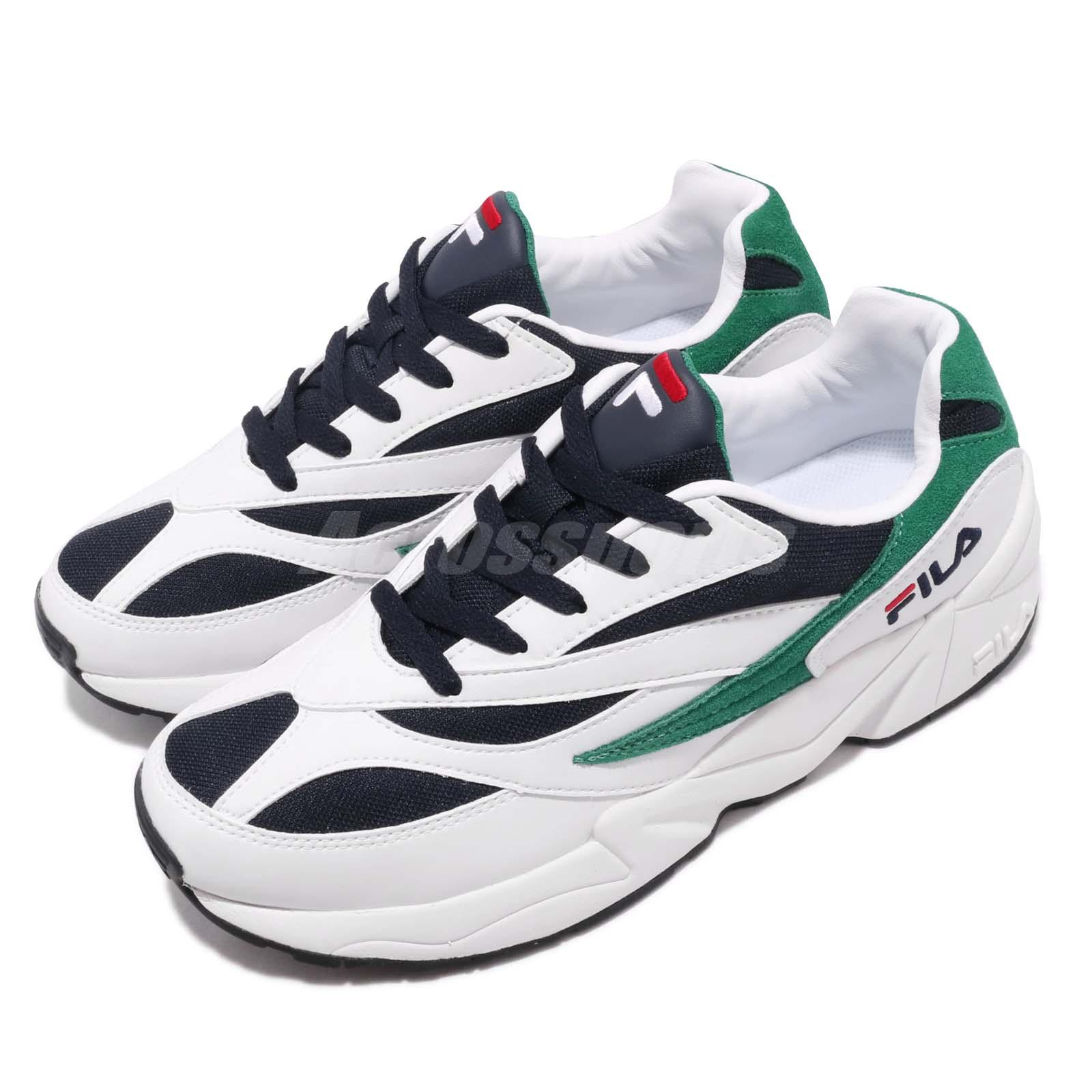 Details about Fila Venom 94 White Navy Green Men Women Running Lifestyle  Daddy Shoes Sneakers